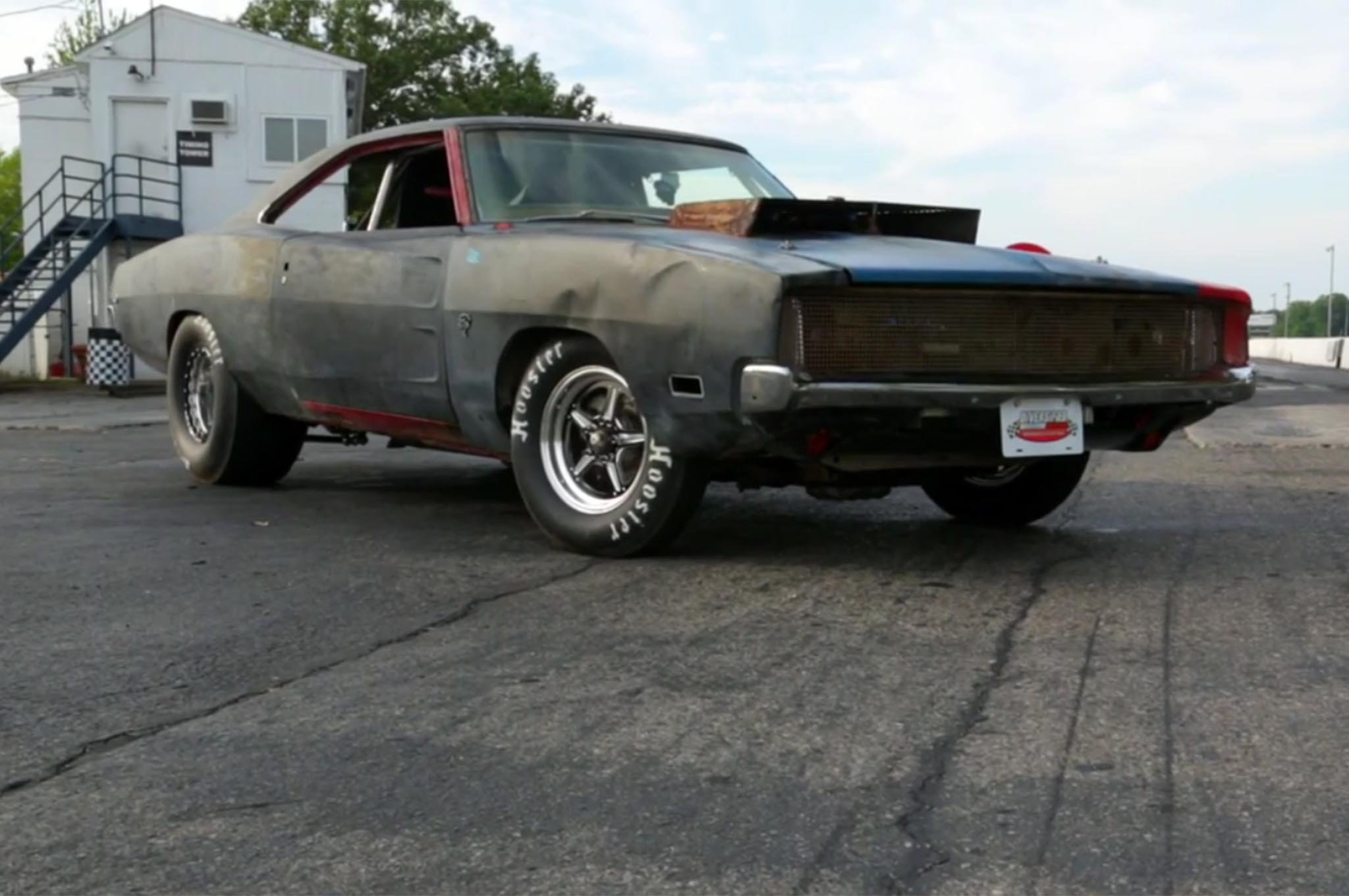 Watch Roadkill Put a Hellcat Engine into a 1968 Dodge Charger