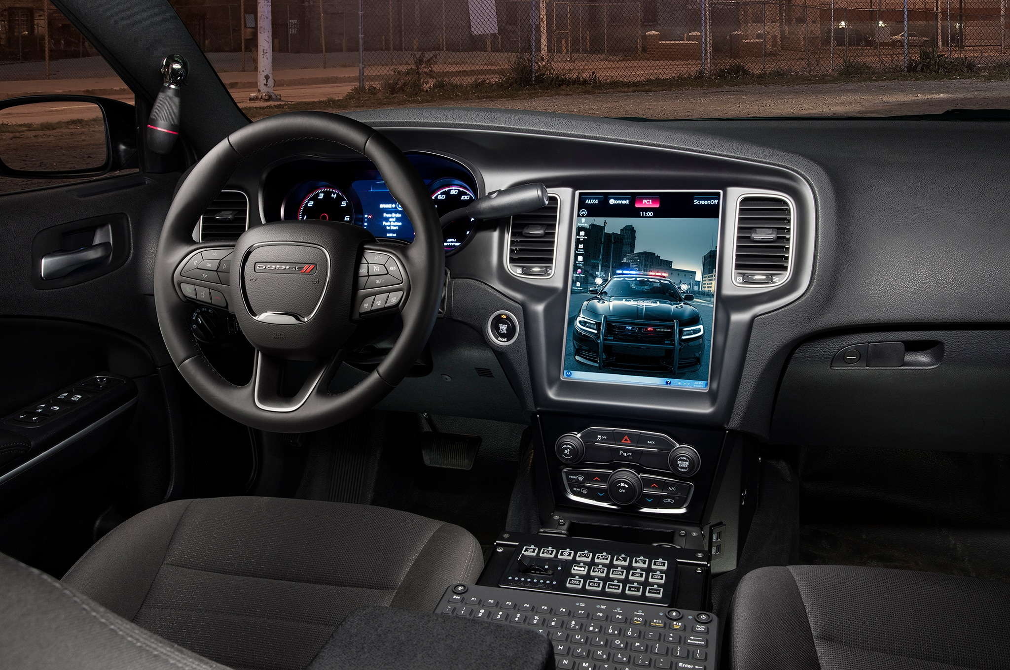 2017 Jeep Wrangler Mpg >> 2016 Dodge Charger Pursuit Adds 12.1-inch Touchscreen Computer