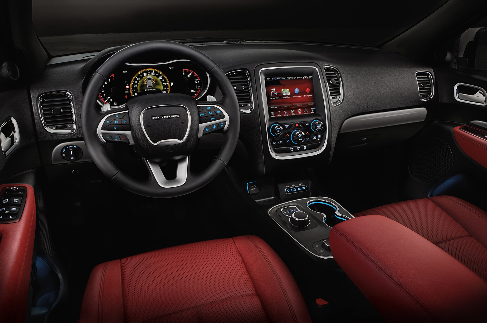 2016 Dodge Durango Adds Engine Stop-Start, New Trim Levels