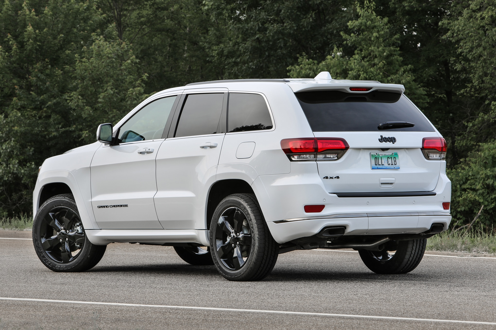 2016 Jeep Grand Cherokee High Alude Rear Three Quarter