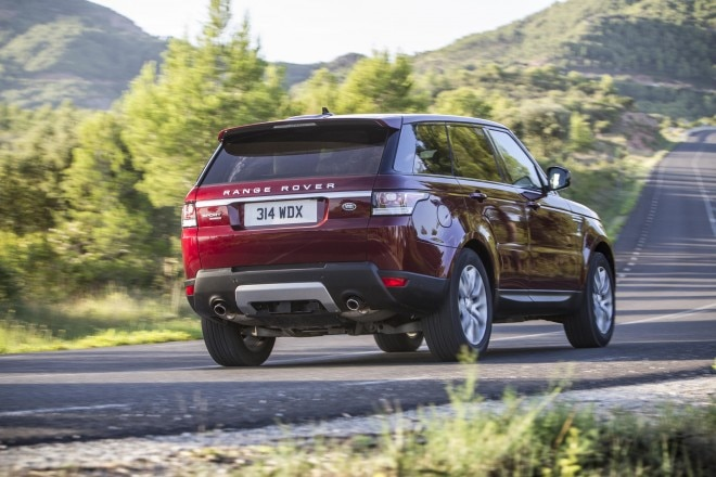 2016 Land Rover Range Rover Sport Td6 rear three quarter static