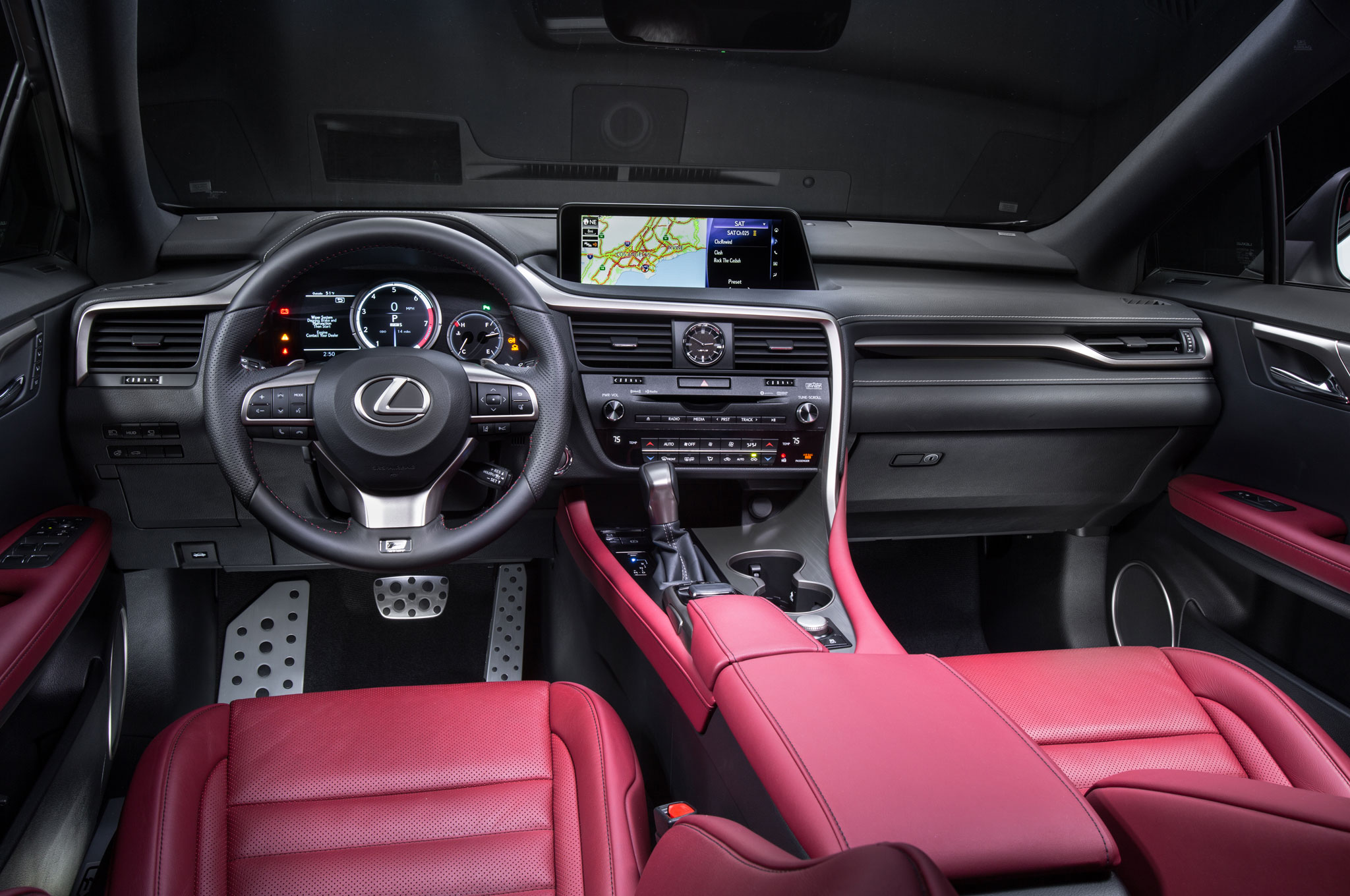 Though the RX has a slightly larger footprint than before, most interior dimensions don't change much. It's still a nice size inside, with a good amount of ...