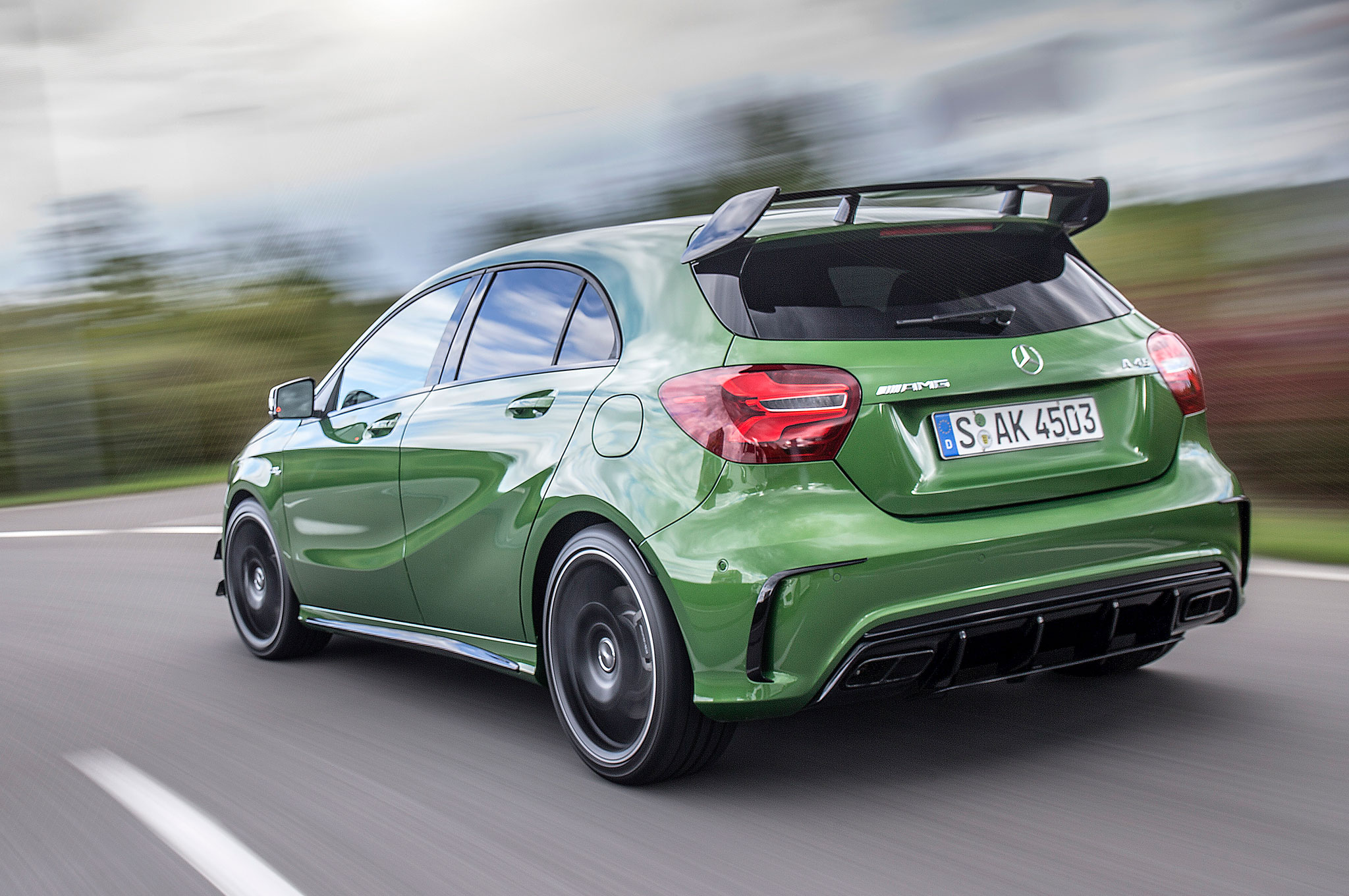https://st.automobilemag.com/uploads/sites/11/2015/09/2016-Mercedes-AMG-A45-4Matic-rear-three-quarter-in-motion-02.jpg