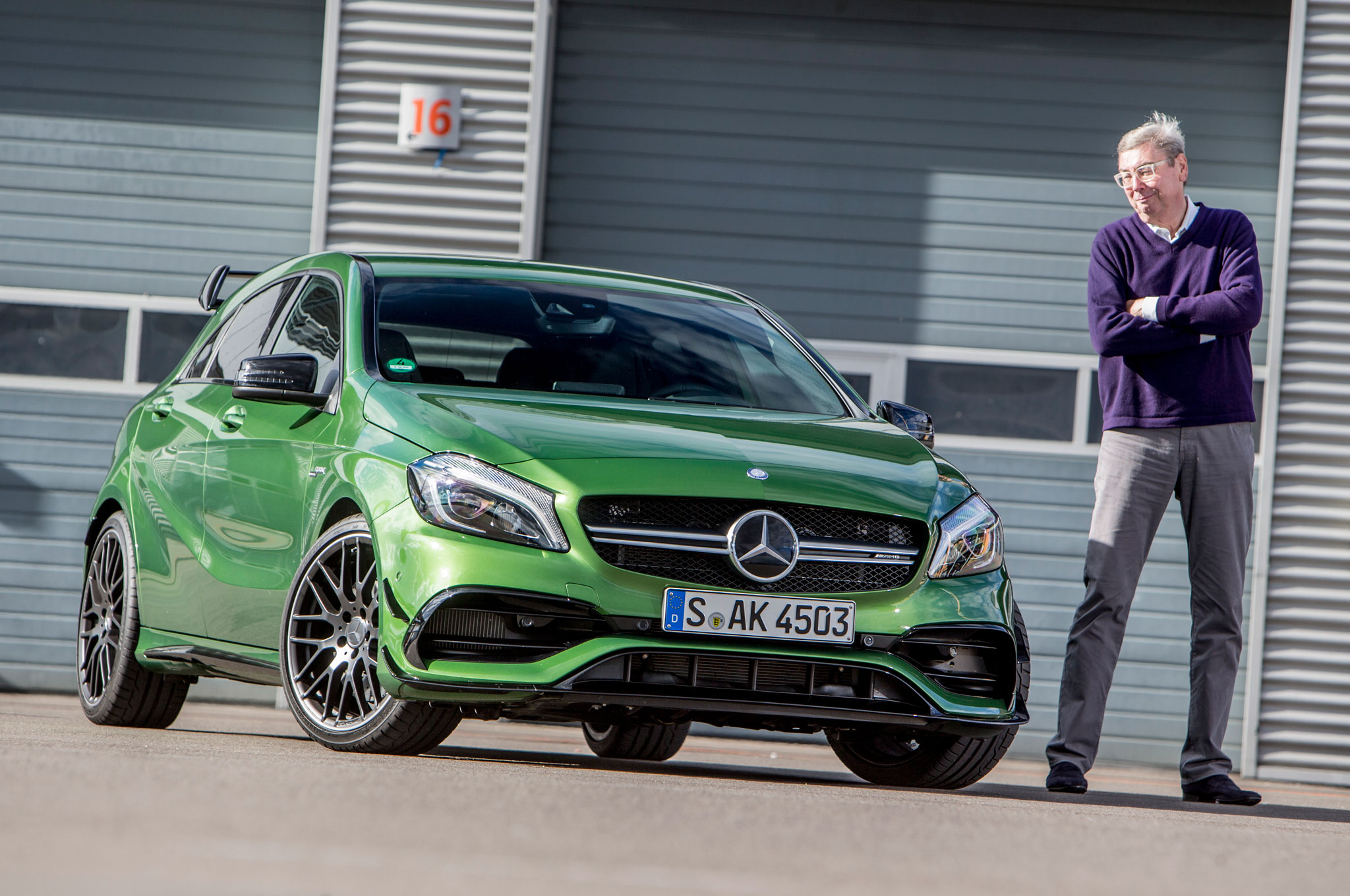 2016 Mercedes Amg A45 4matic Review
