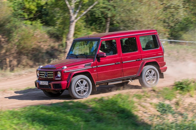 2016 Mercedes Benz G550 Front Three Quarter In Motion