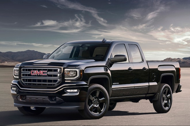2016 Gmc Sierra Elevation Left Front Angle