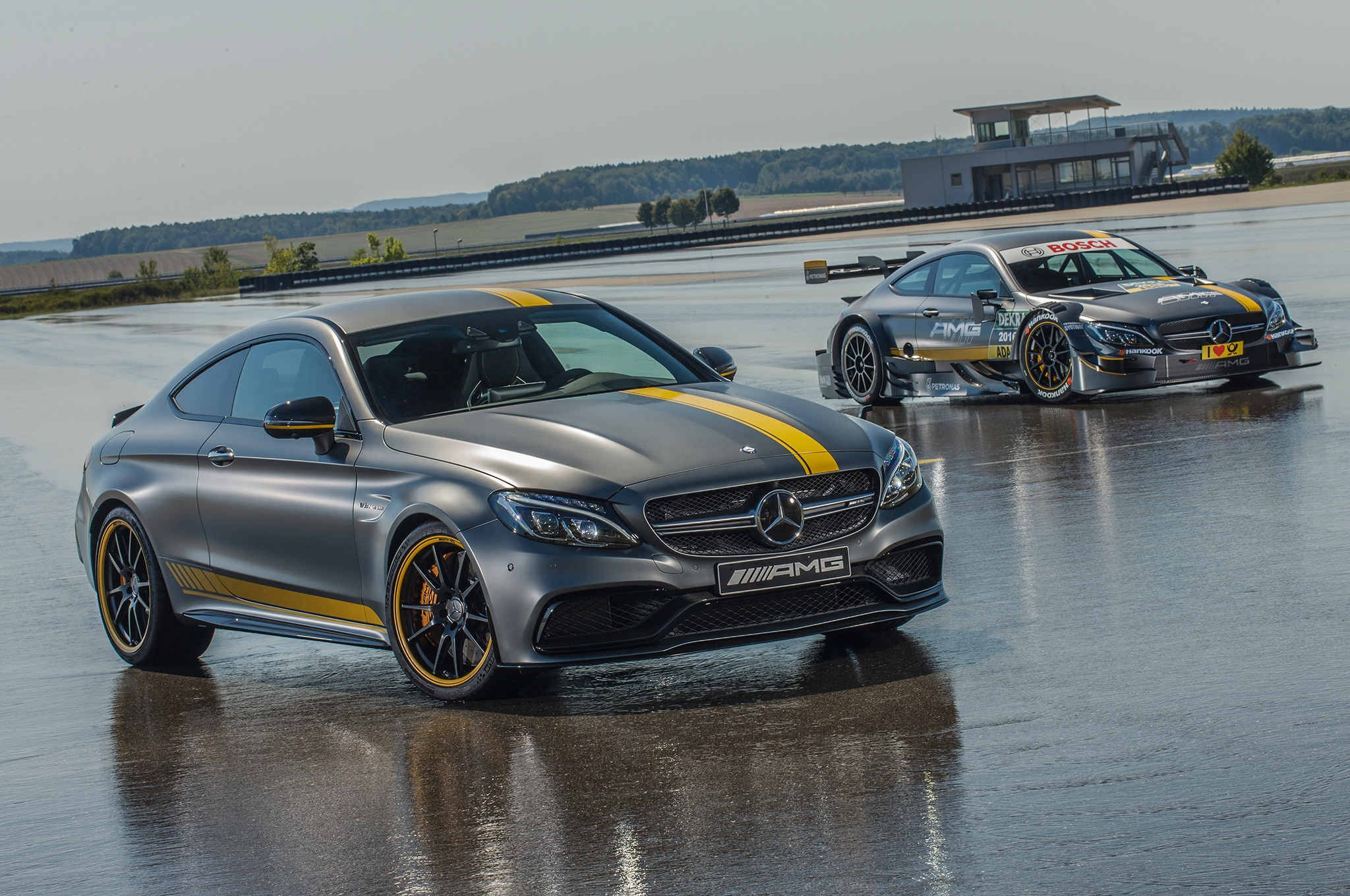 2017 Mercedes AMG C63 Coupe Edition 1 And DTM Car 5