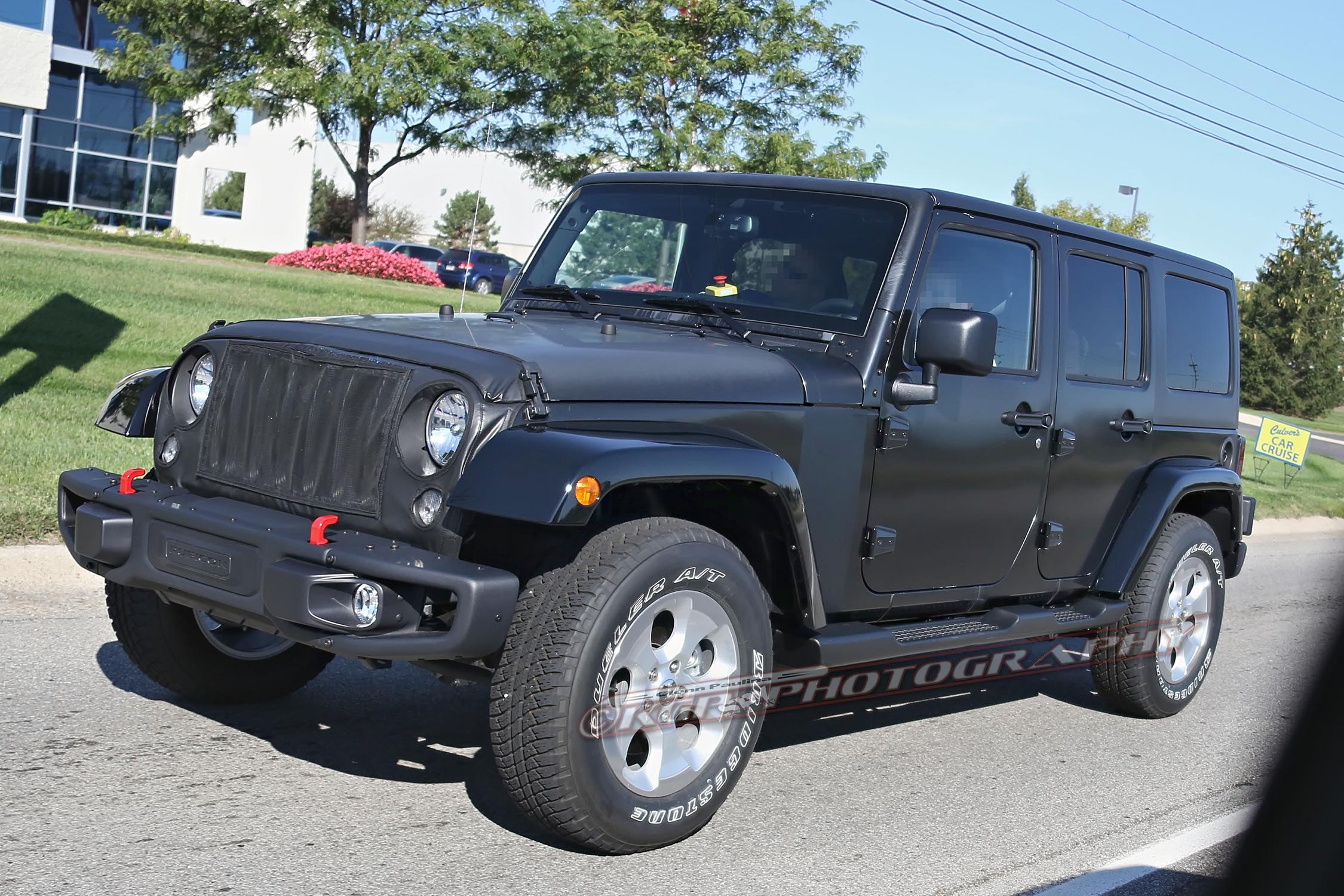2018 Jeep Wrangler Prototype Spied With Body Suspension Modifications Front Sway Bar Diagram Free Image About Wiring Show More