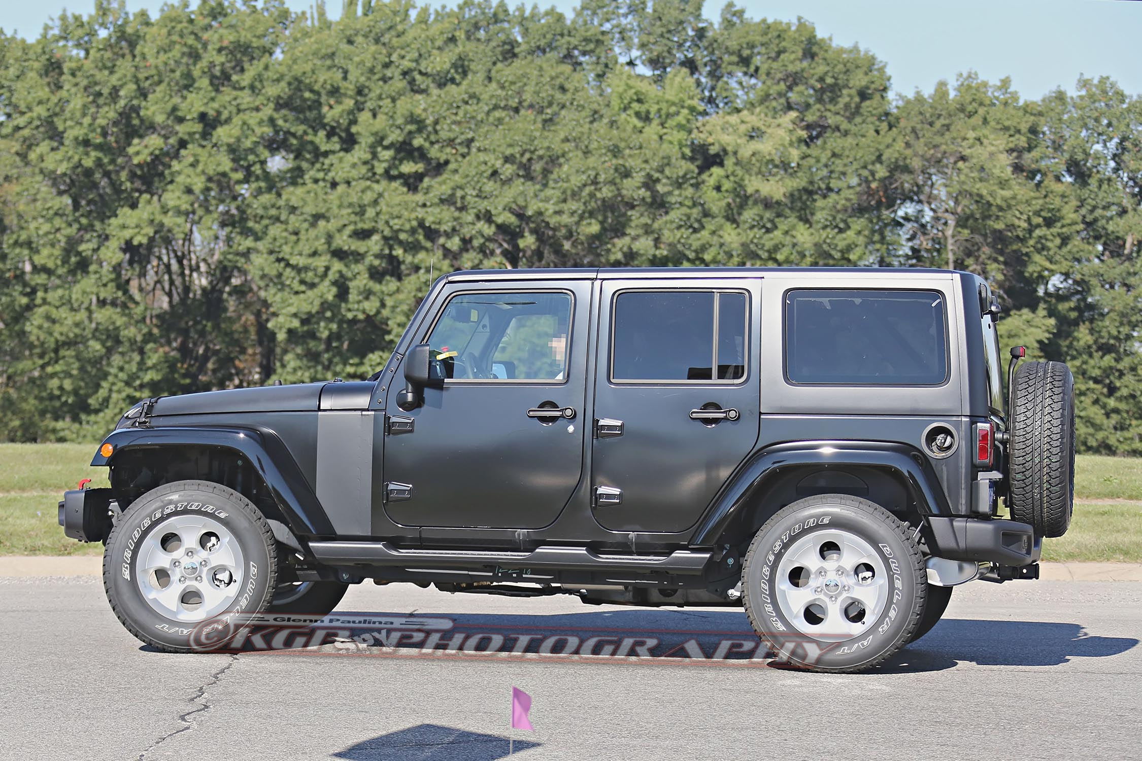 2018 Jeep Wrangler Prototype Spied with Body Suspension Modifications