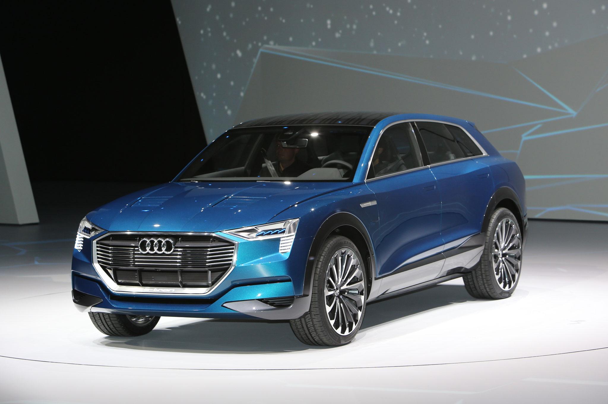 Audi E Tron Quattro Concept Front Three Quarter 01