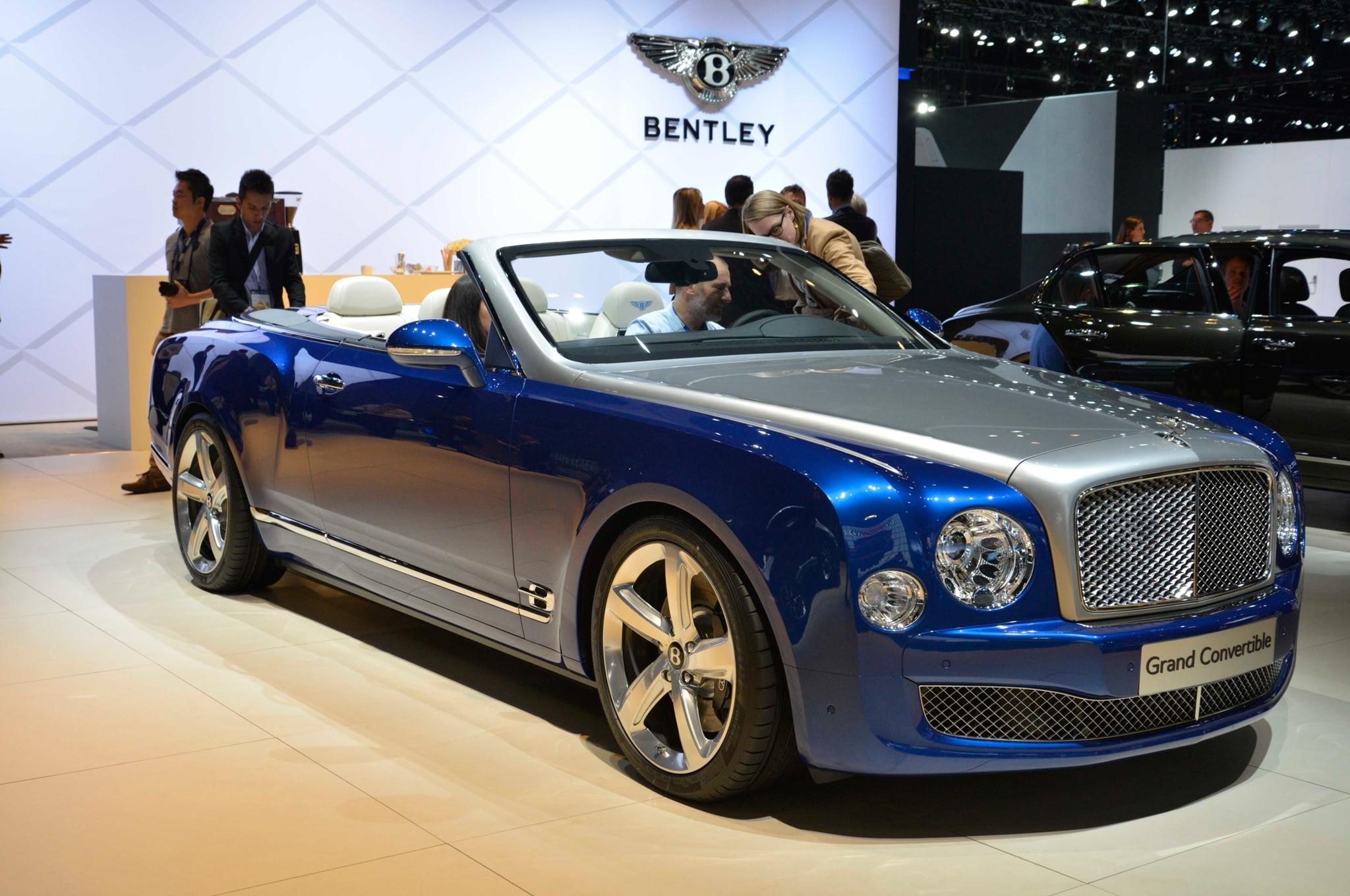Bentley Mulsanne Grand Convertible Due Soon; New ...