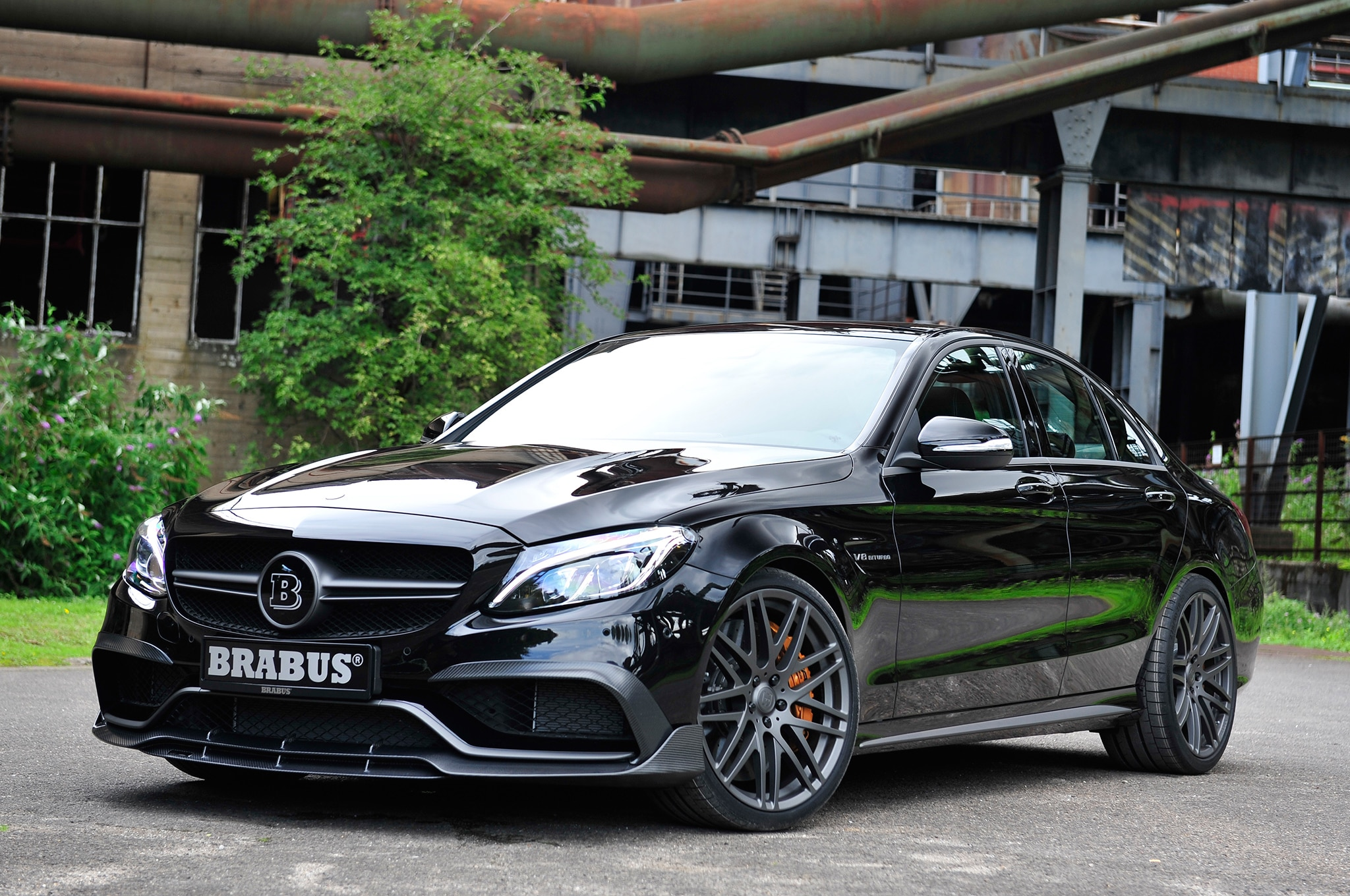 brabus cranks the mercedes amg c63 s up to 591 hp2 9