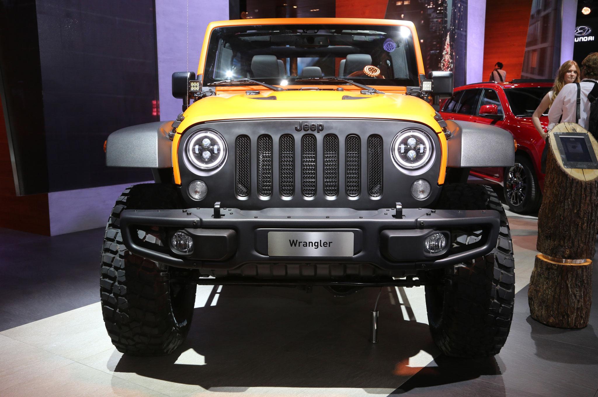 Mopar Tuned Jeep Cherokee Wrangler And Renegade Debut In Frankfurt Front Suspension Diagram Jk Rubicon Sunriser End
