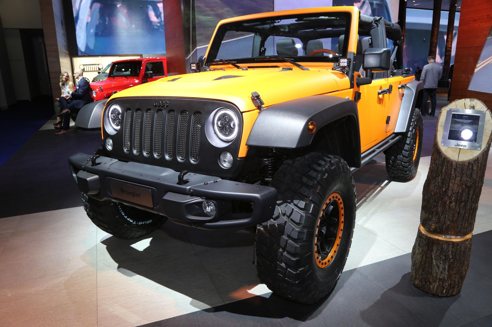Mopar-Tuned Jeep Cherokee, Wrangler, and Renegade Debut in ...