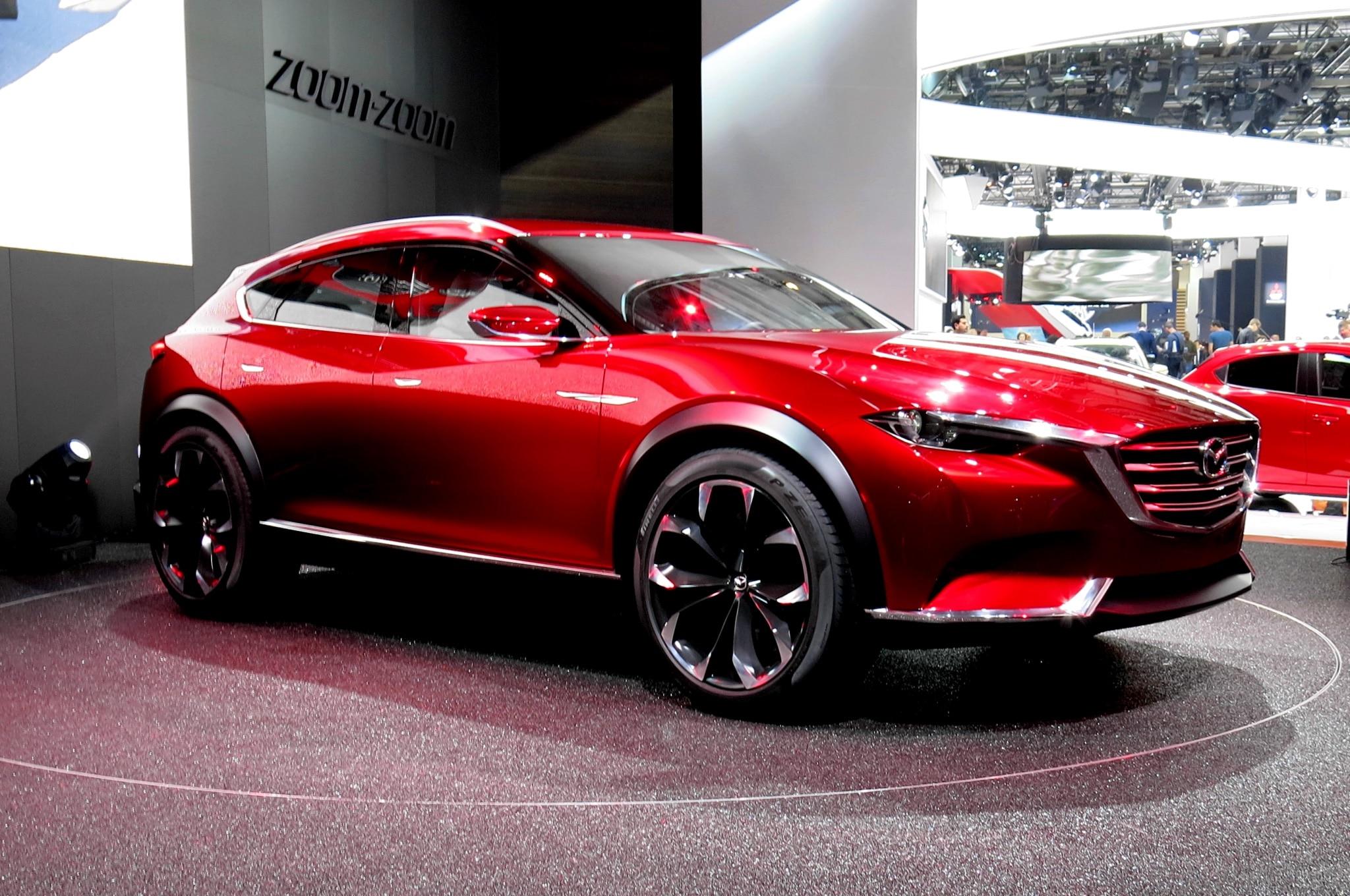 Mazda Koeru Concept Live Front Three Quarter 2
