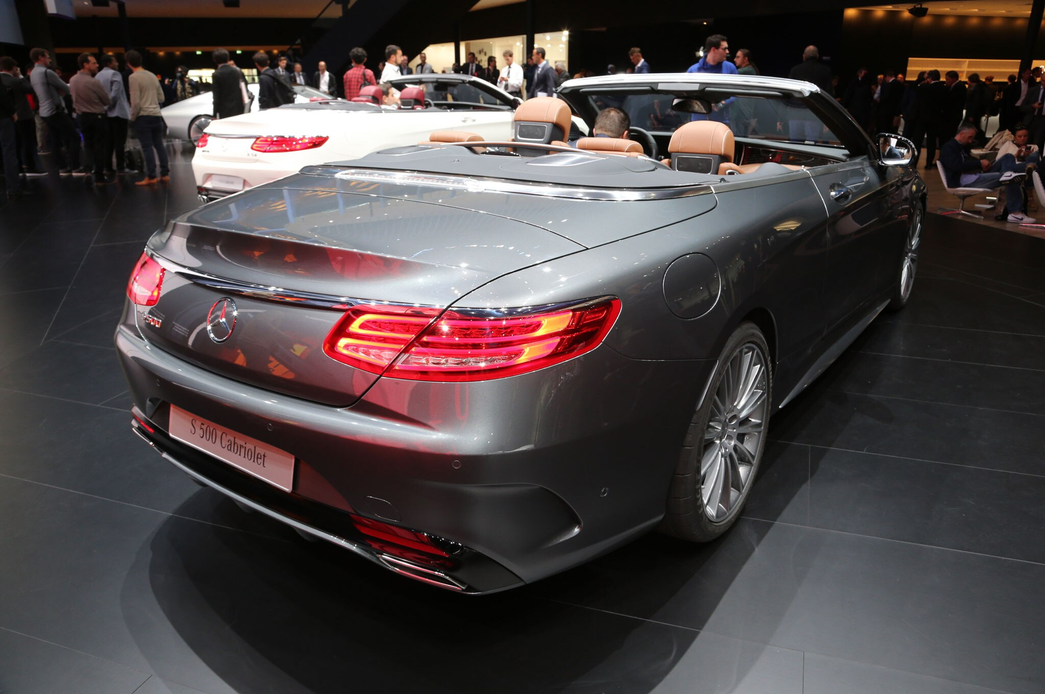 2017 Mercedes-Benz S-Class Cabriolet Opens its Roof Ahead of ...