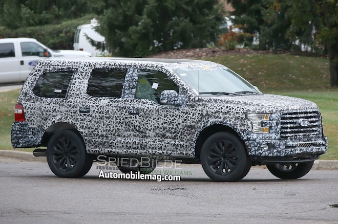 Next Gen Ford Expedition Spied Front Three Quarter 4