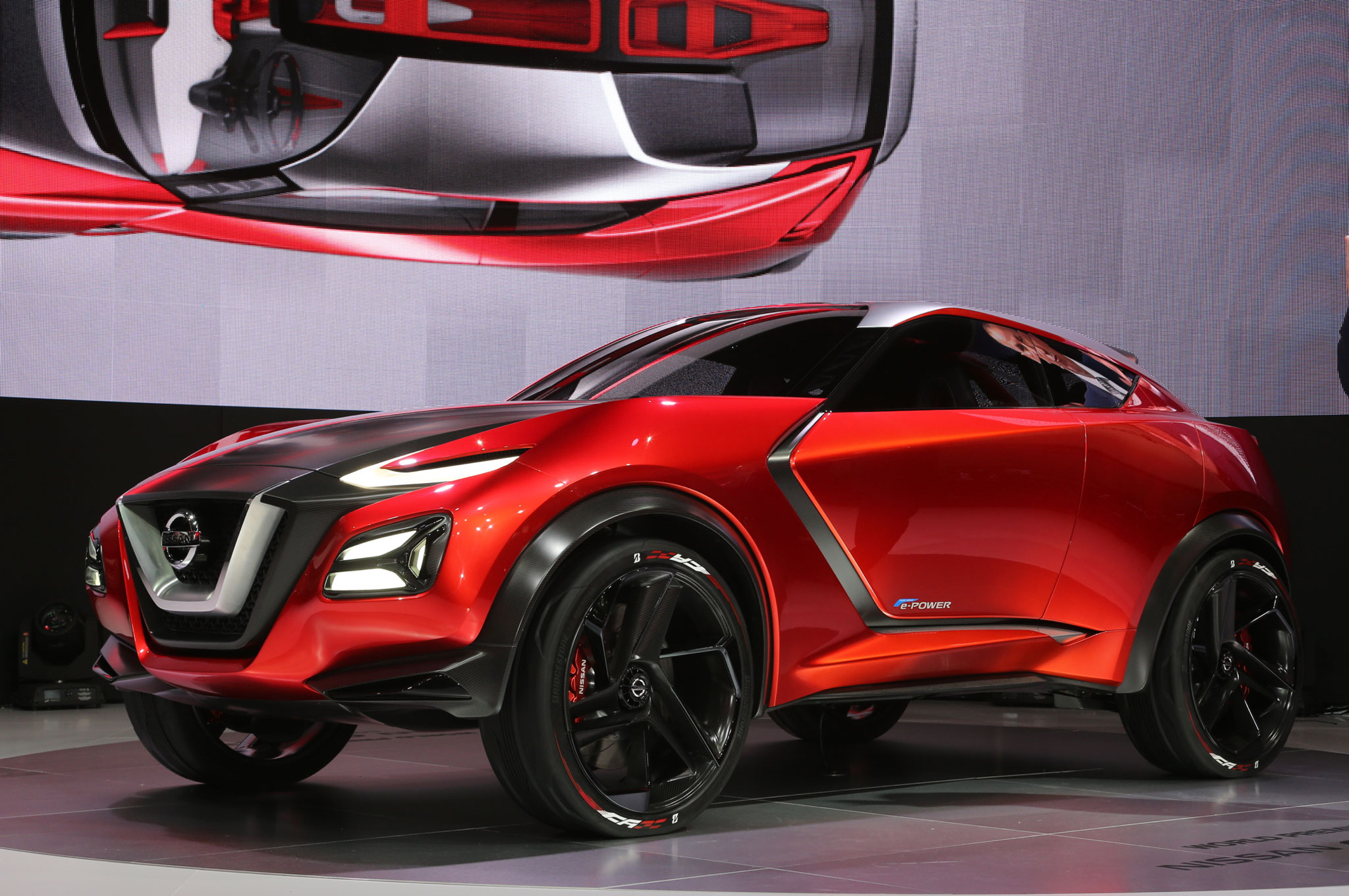 Nissan Gripz Concept is an All-Wheel-Drive Hybrid with ...