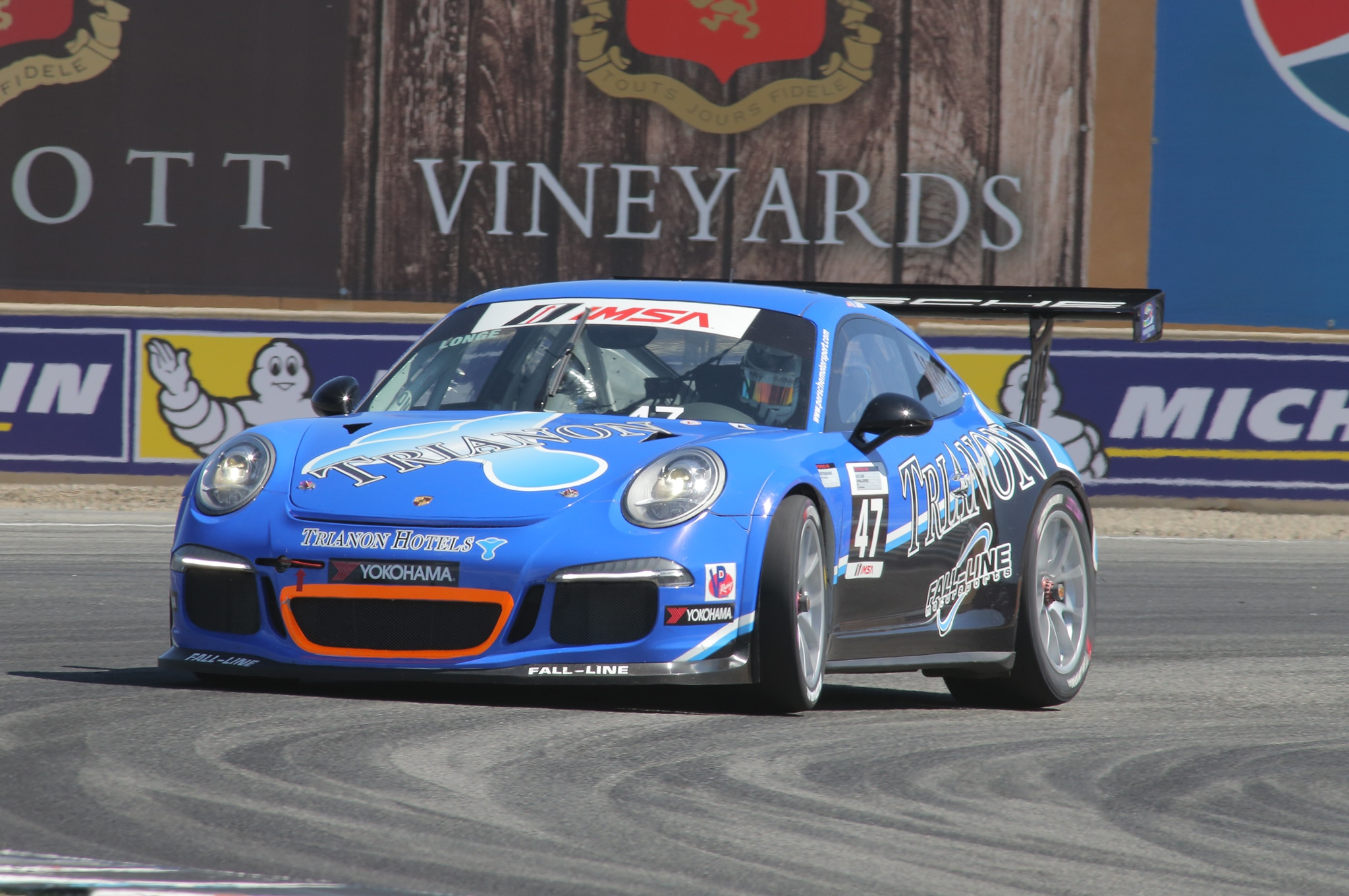 16. Porsche ran two races for the modern GT3 Cup Challenge, this one driven by Andrew Longe.