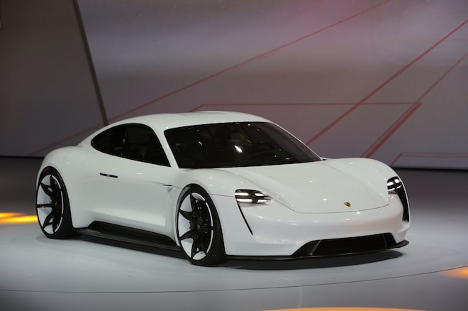 Porsche Mission E Front Three Quarter 02