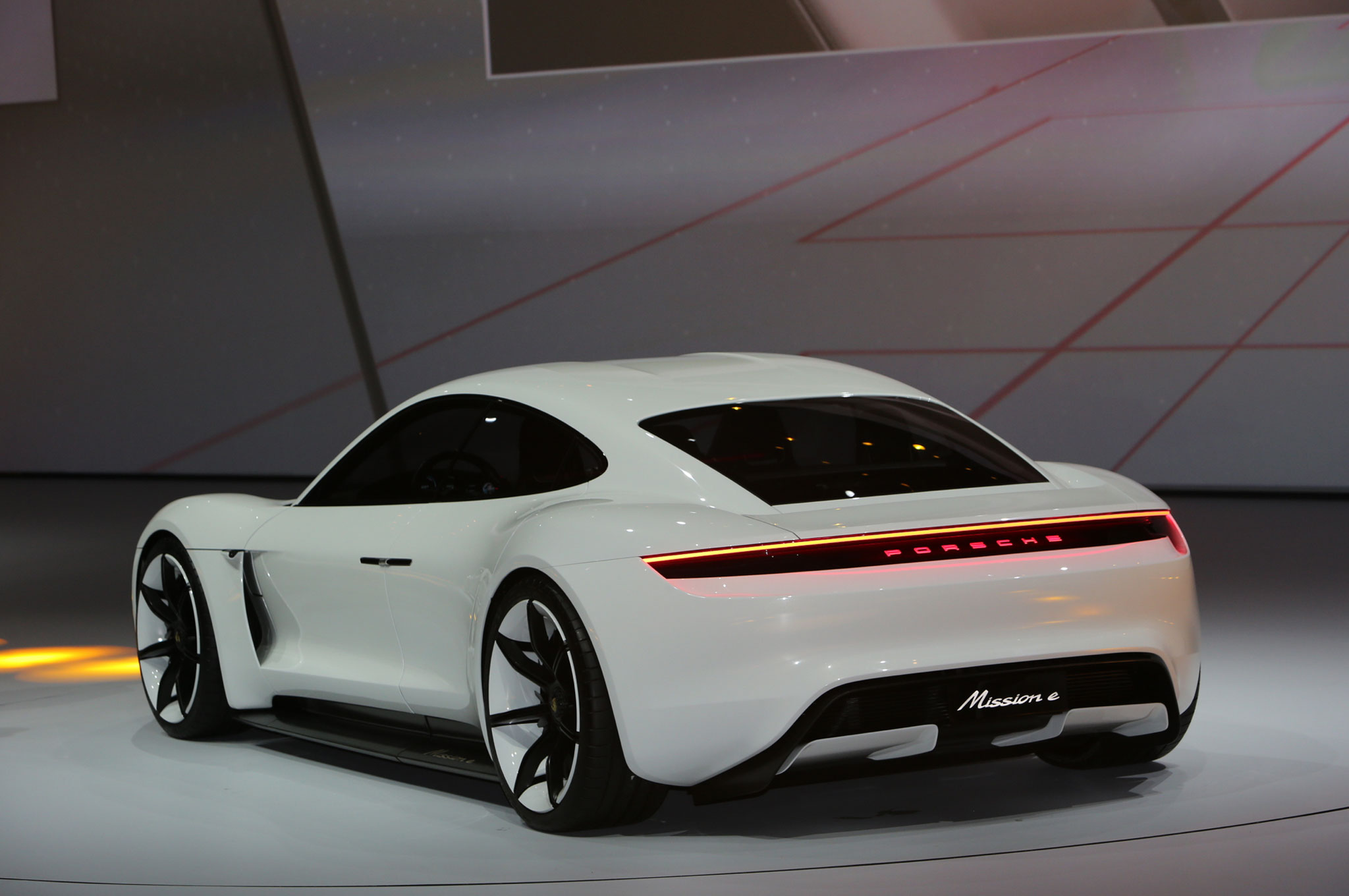 Porsche Panamera Gts 2018 >> Porsche Mission E Concept EV Arrives in Frankfurt with 600 HP
