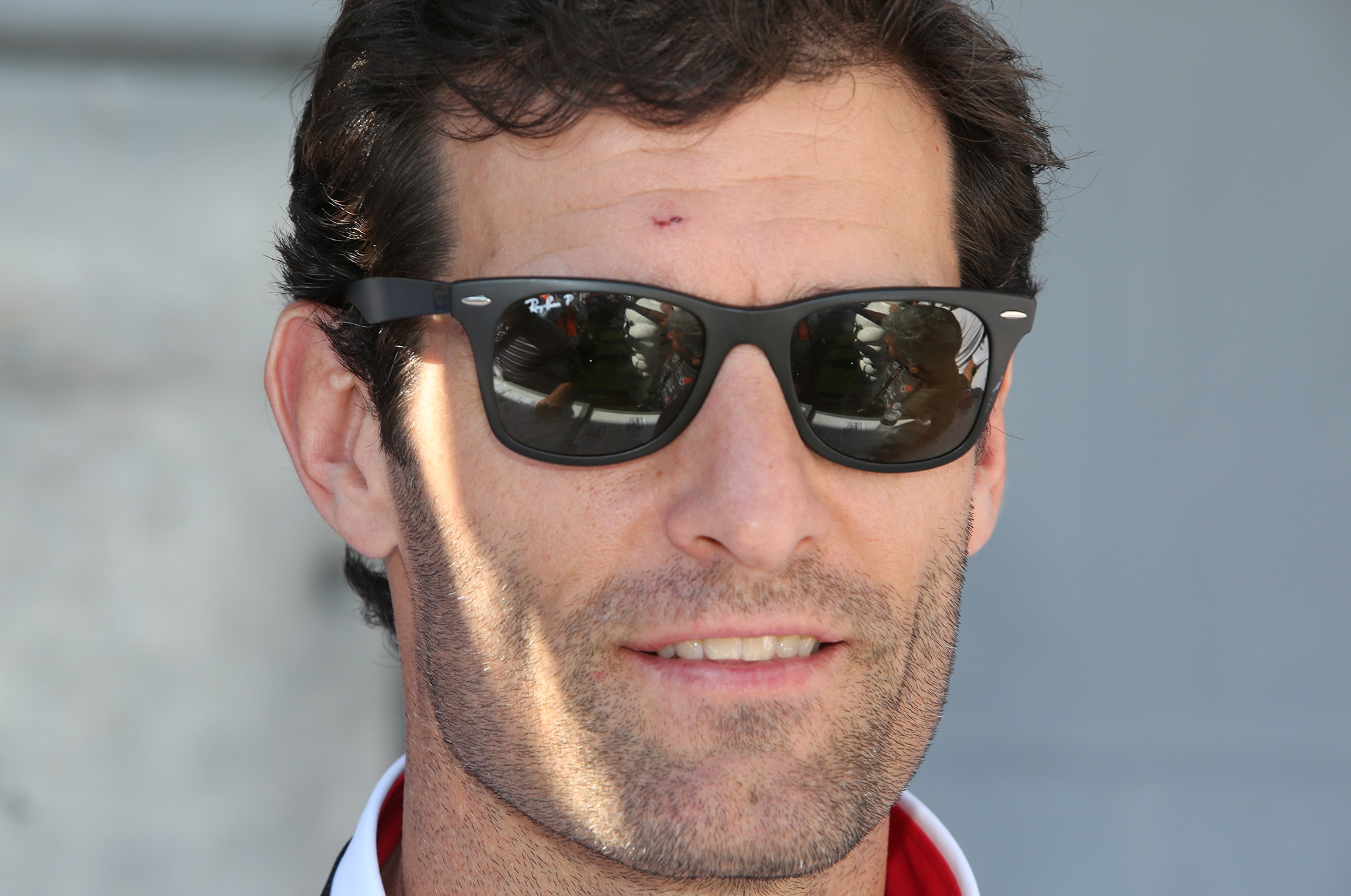 21. Among the guest drivers was Le Mans winner Mark Webber.