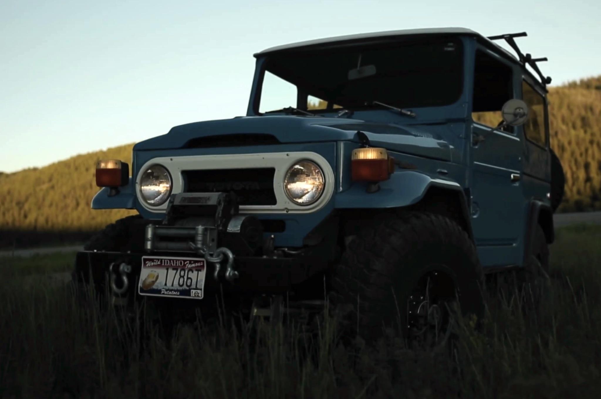 1976 Toyota FJ40 Petrolicious Screenshot