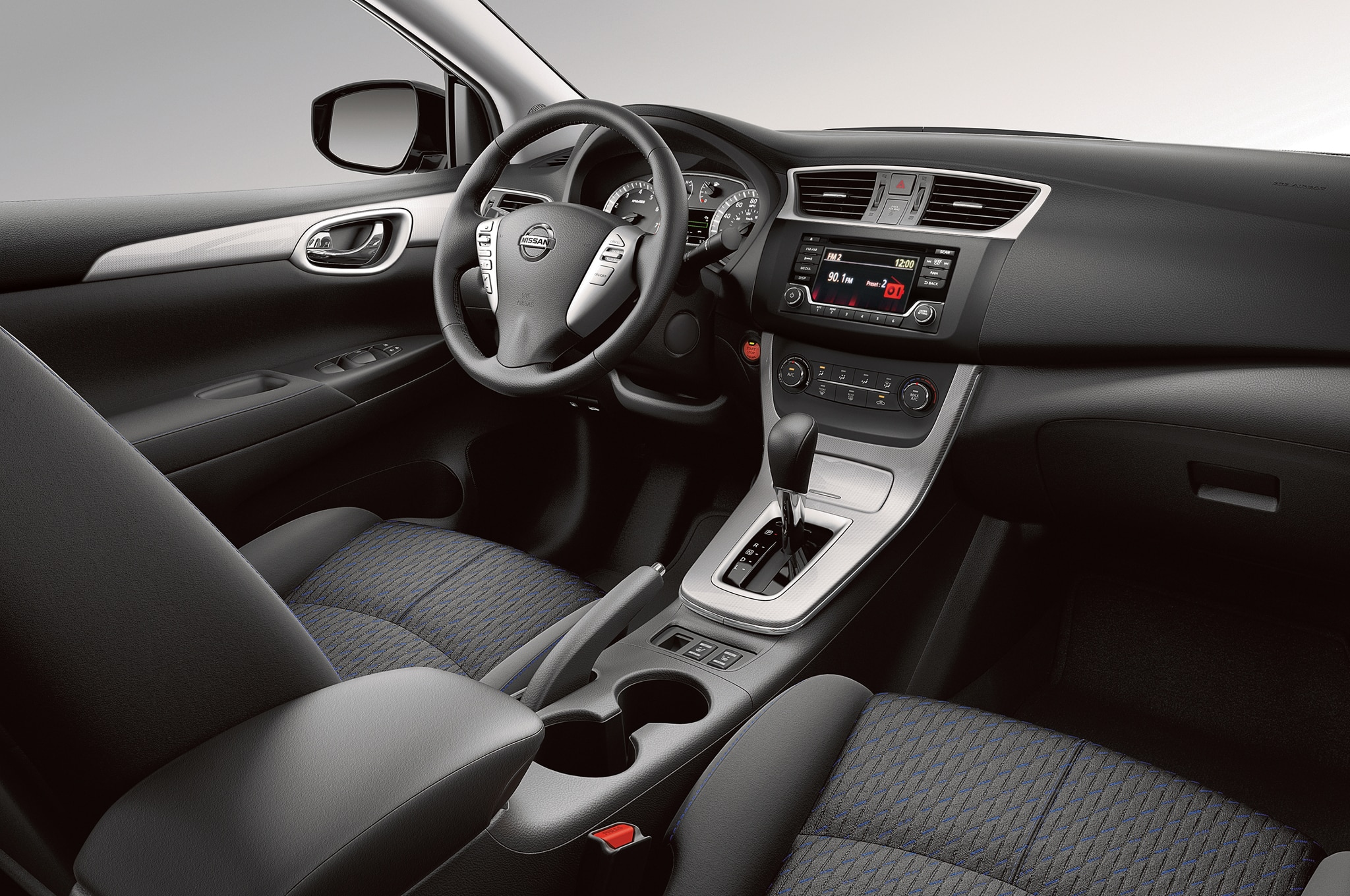 Elantra Interior 2017 >> Updated Nissan Sentra, Mitsubishi Mirage, Outlander Sport Due in L.A.