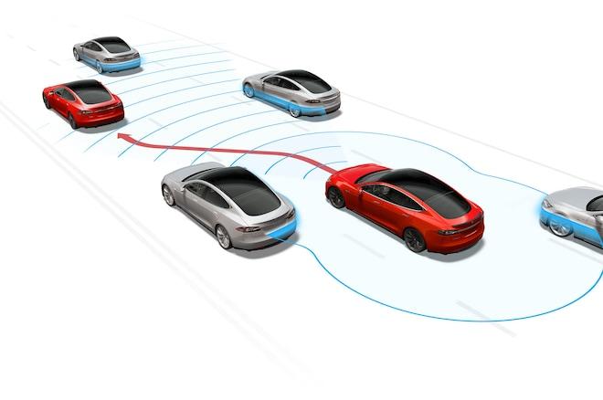 2015 Tesla Model S Autopilot