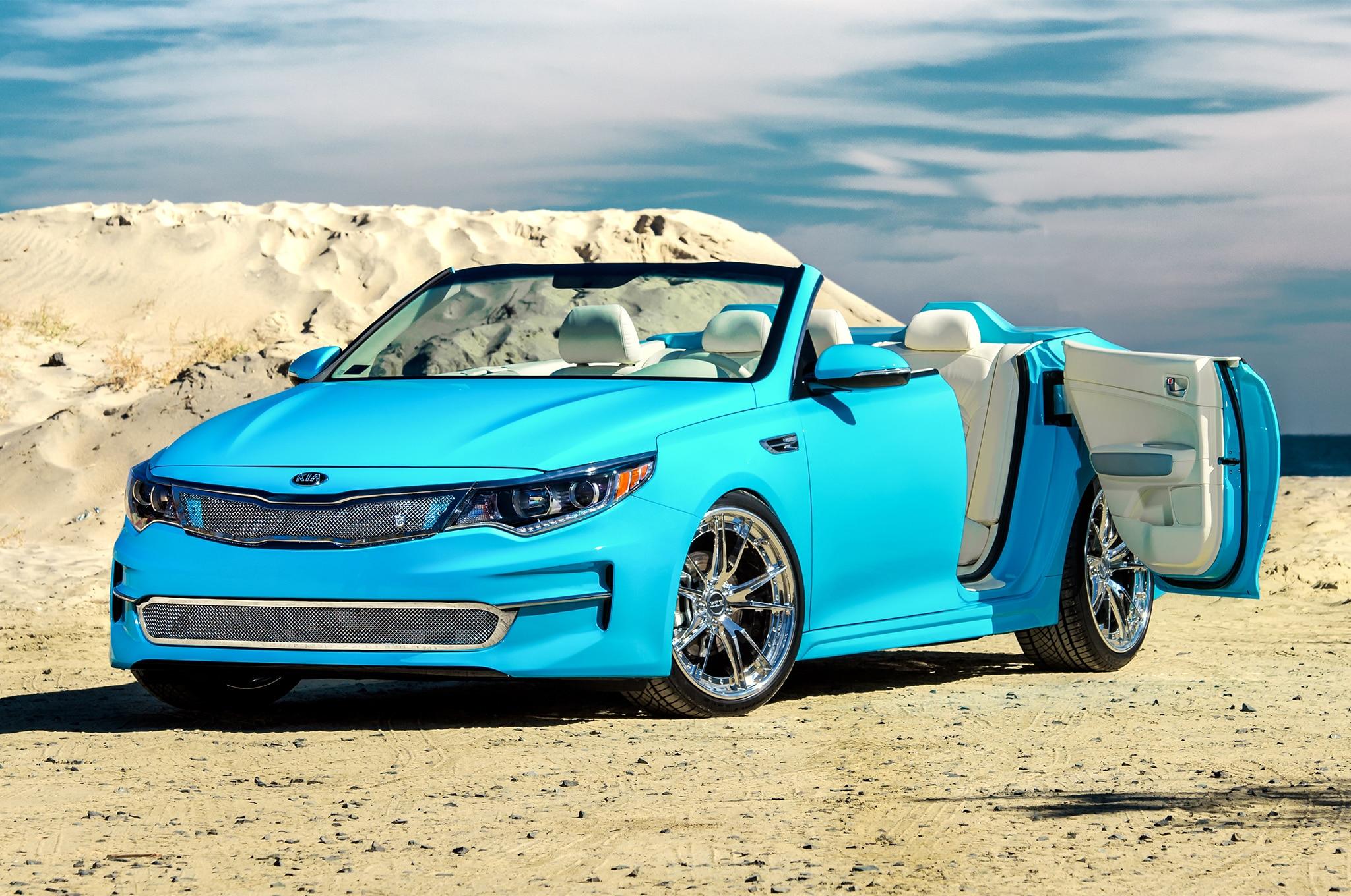 Kia Optima 2013 >> Convertible 2016 Kia Optima Concept Heads to SEMA