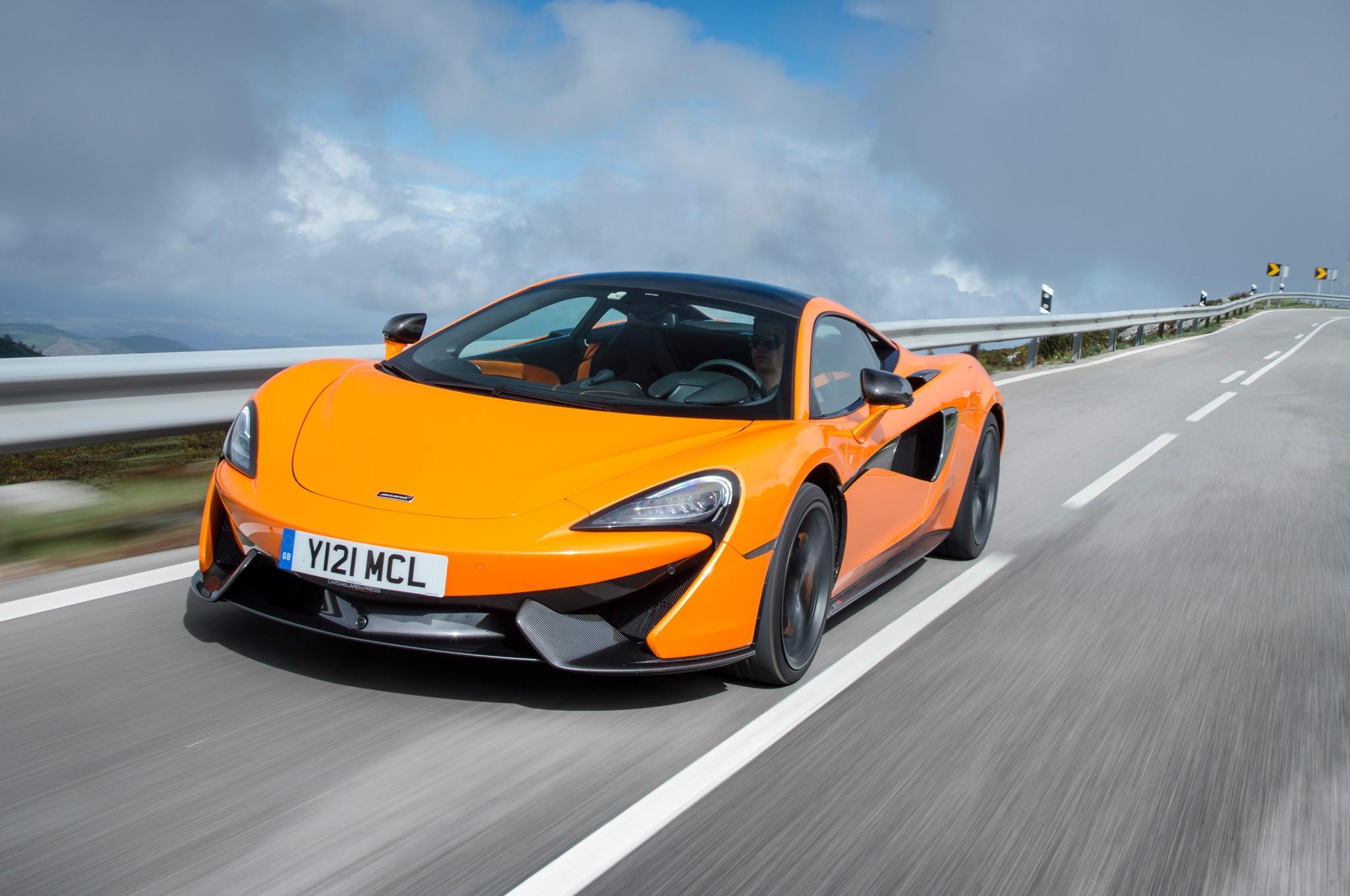 2016 McLaren 570S Front Three Quarter In Motion 07