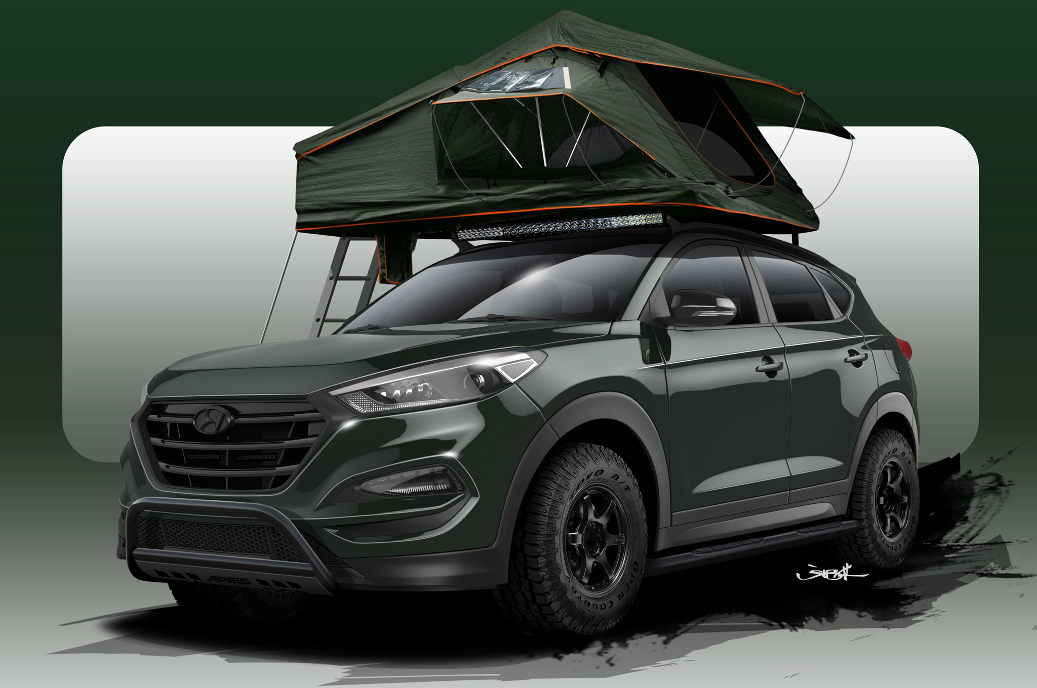 Second Off Road Ready 2016 Hyundai Tucson Gears Up For Sema