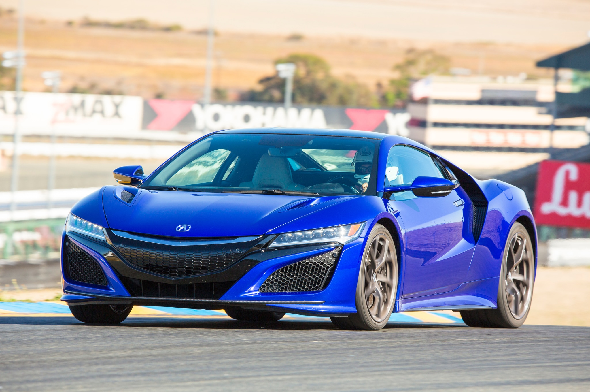 2017 Acura NSX Front Three Quarters In Motion