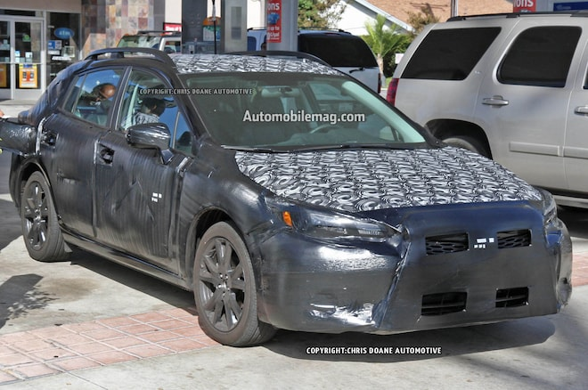 2017 Subaru Impreza Spied Front Three Quarters 021