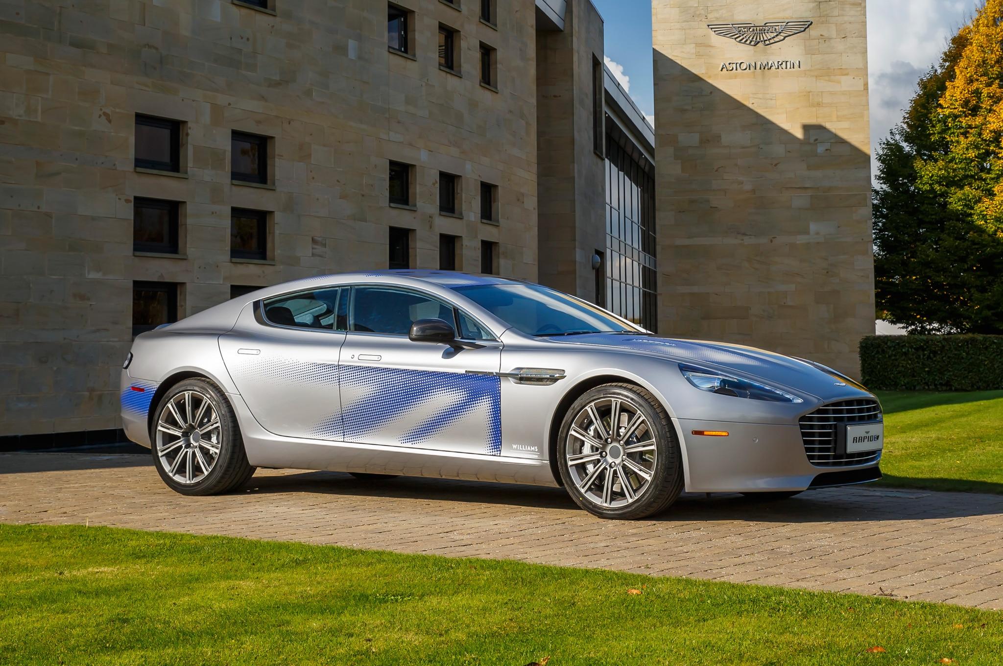 Aston Martin RapidE Concept Front Three Quarter 03