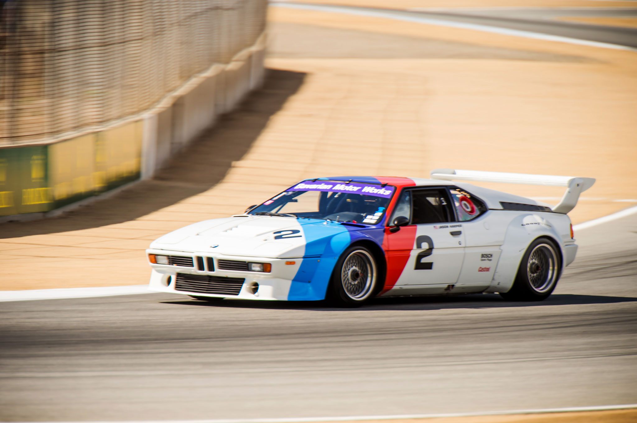 The One: Racing the Mid-engine BMW M1 Supercar at Mazda ...