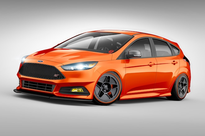 Ford Focus ST By CJ Pony Parts