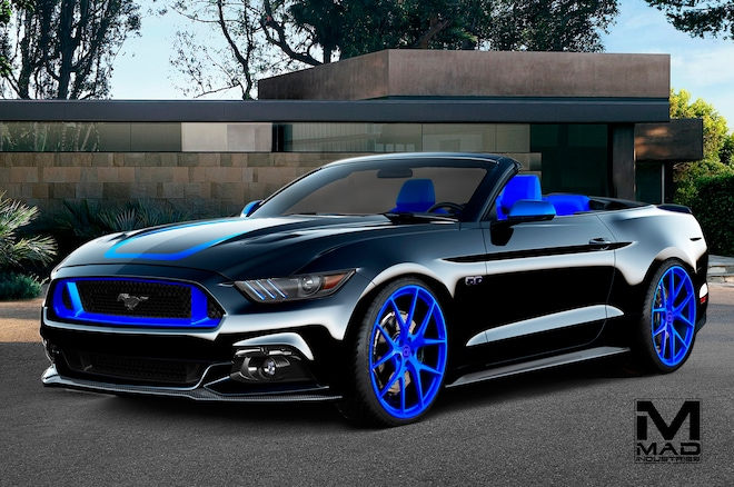 Ford Mustang Gt Convertible By Mad1