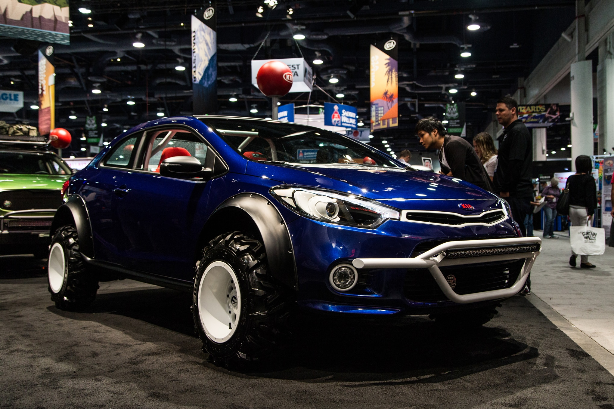 Kia Forte Mud Bogger Concept Front Three Quarter
