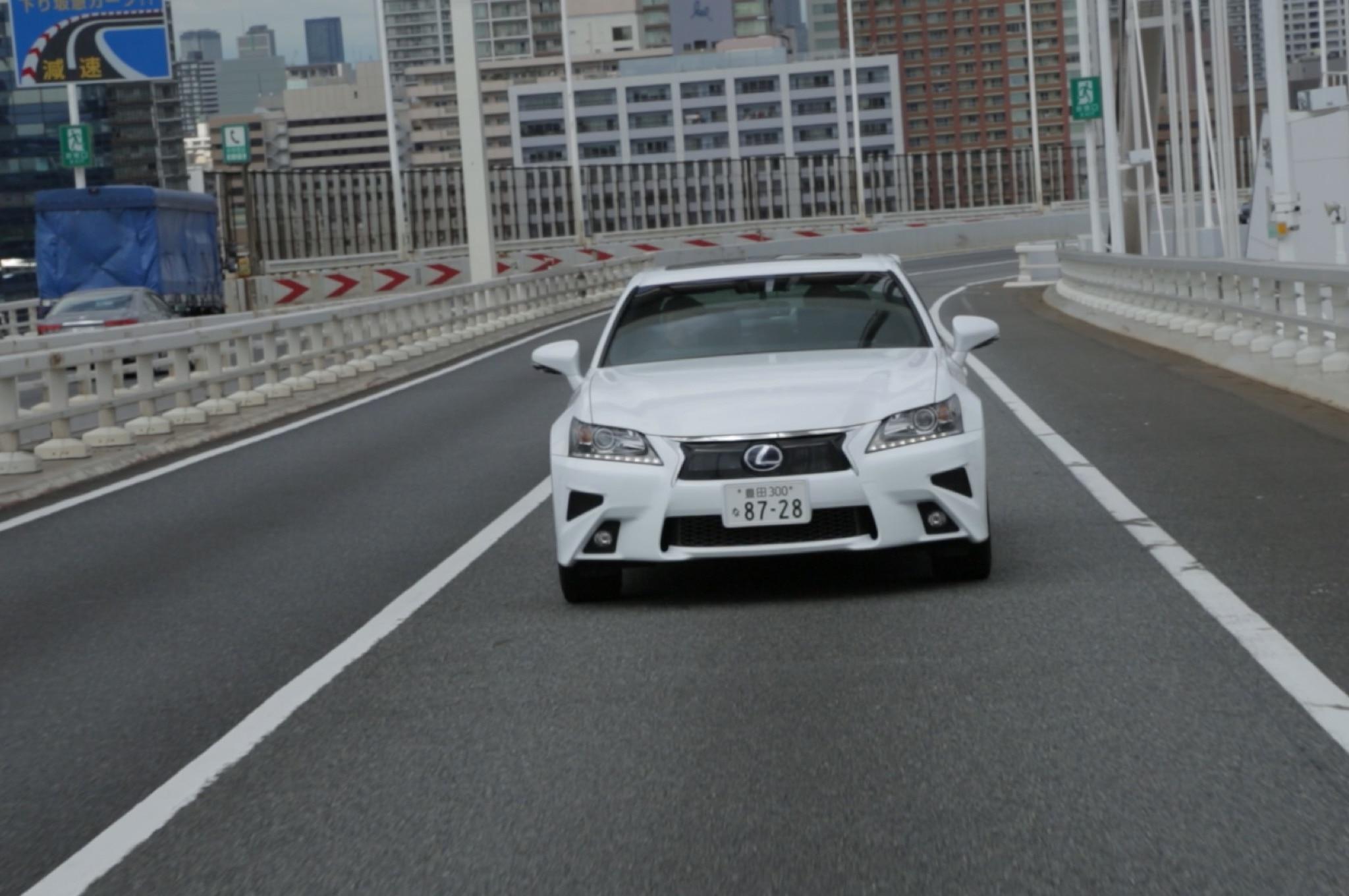 Lexus GS Highway Teammate Prototype Front