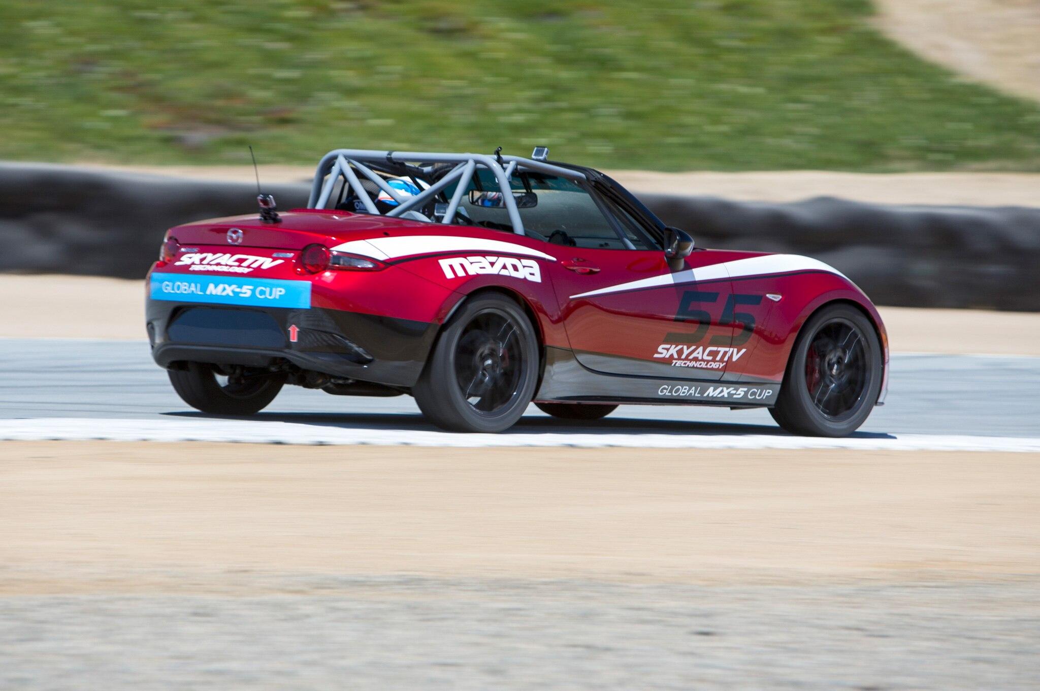Four Times a Racer: Driving Every Mazda MX-5 Miata Race Car