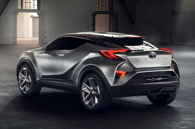 Toyota C Hr Concept Frankfurt Rear Three Quarter 02