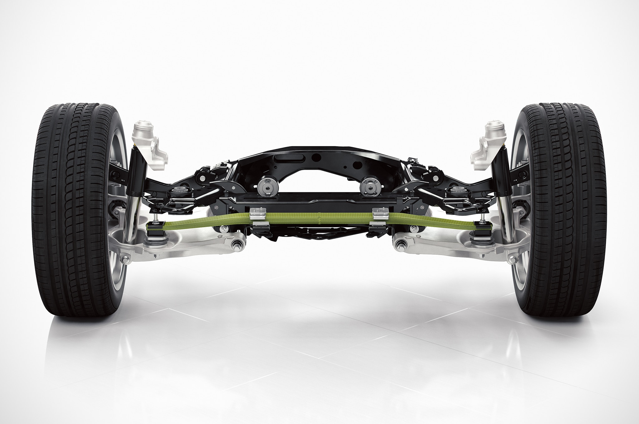 Volvo SPA Chassis Rear Suspension Diagram