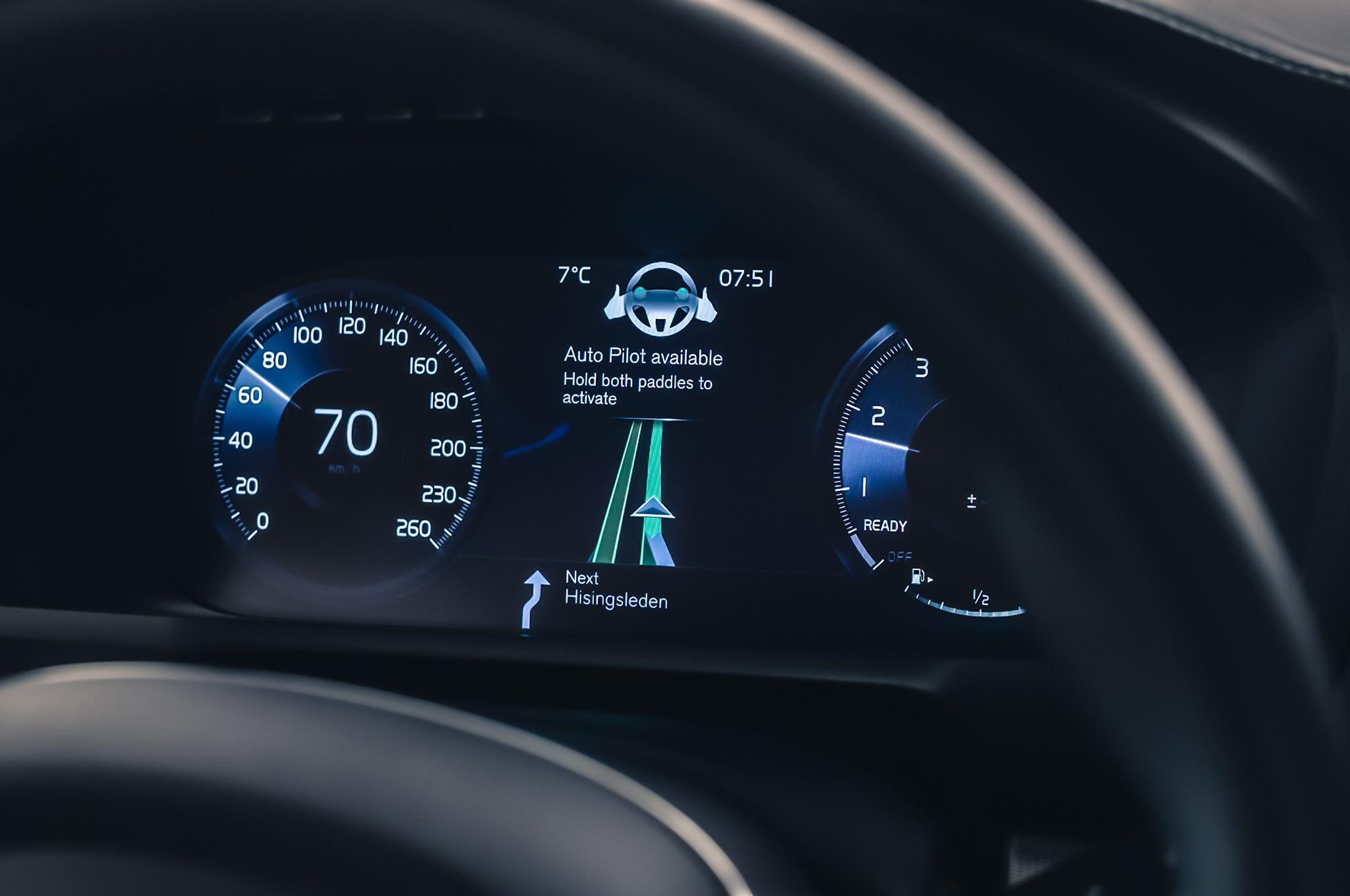 Volvo XC90 IntelliSafe Autonomous Interface 1