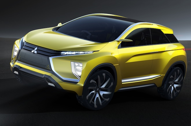 All-Electric Mitsubishi eX Concept Revealed with 249-Mile Range