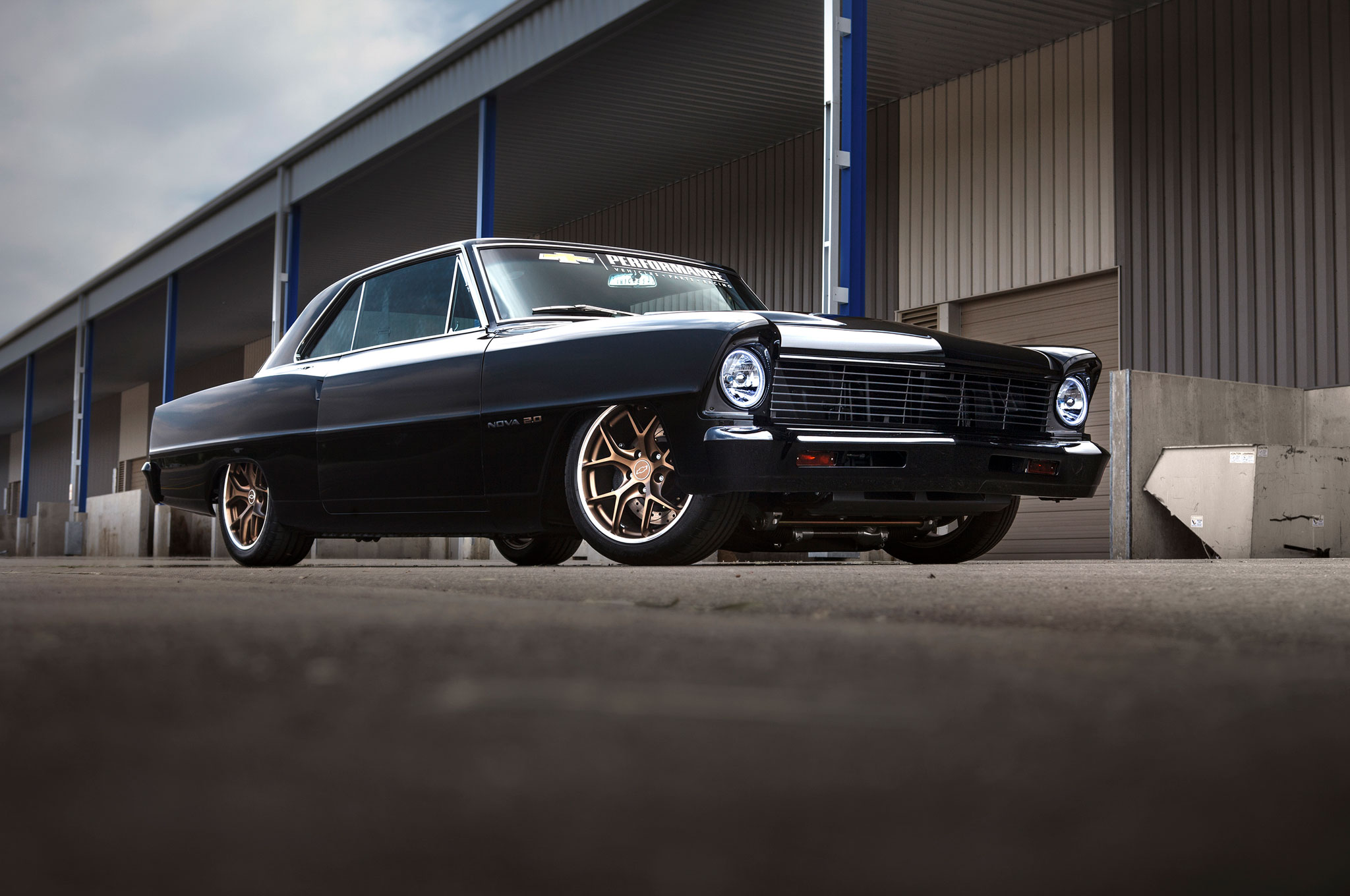Cool Muscle Cars >> SEMA-Bound 1967 Chevrolet Nova Showcases Turbocharged Crate Engine