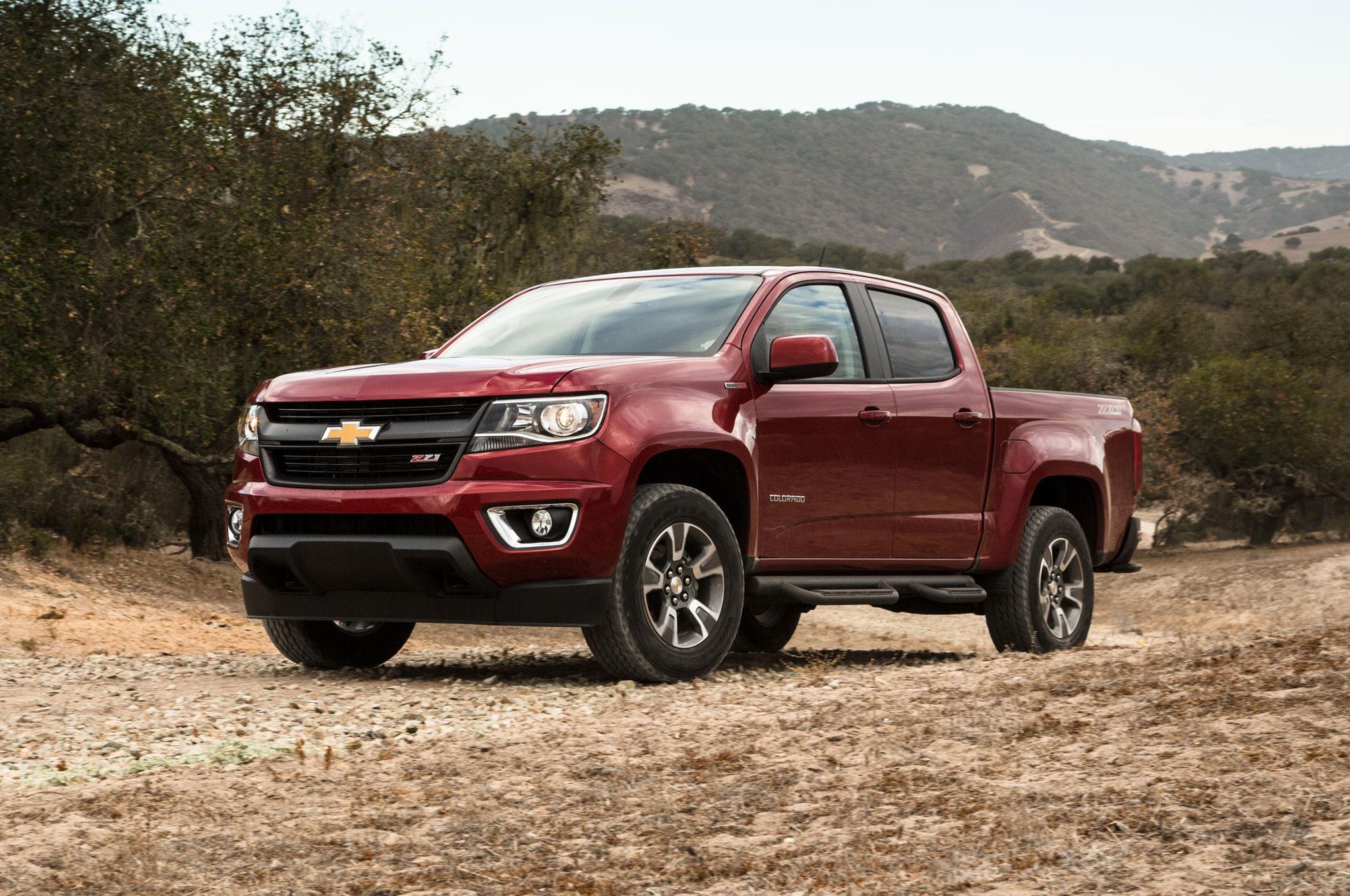 2016 Chevrolet Colorado Diesel Gets 31 MPG Highway