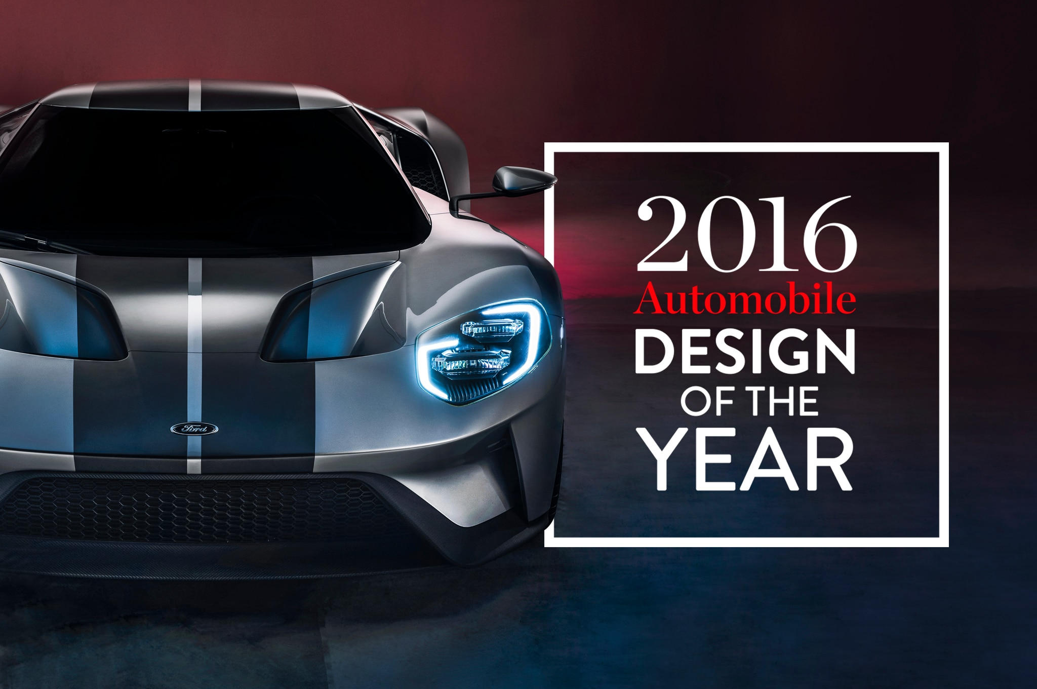 2016 Design Of The Year Full Logo Ford GT