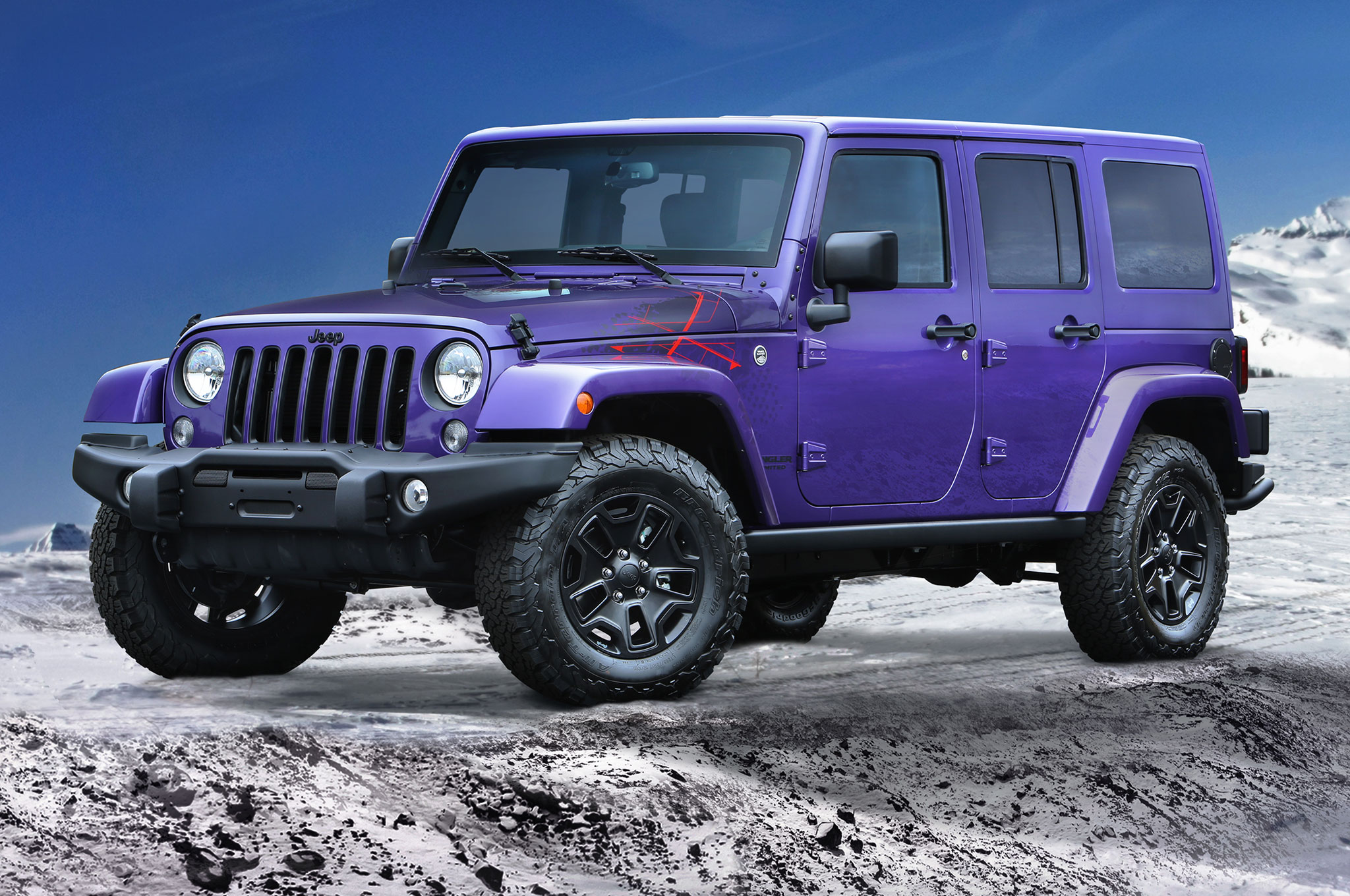 2016 Jeep Wrangler Backcountry Front Side View1
