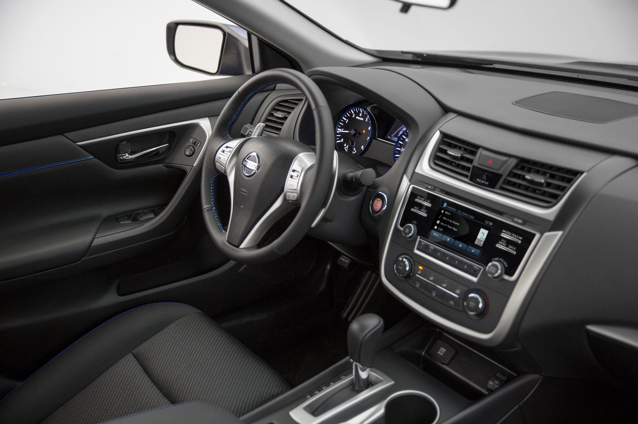 Inside, Nissan ...